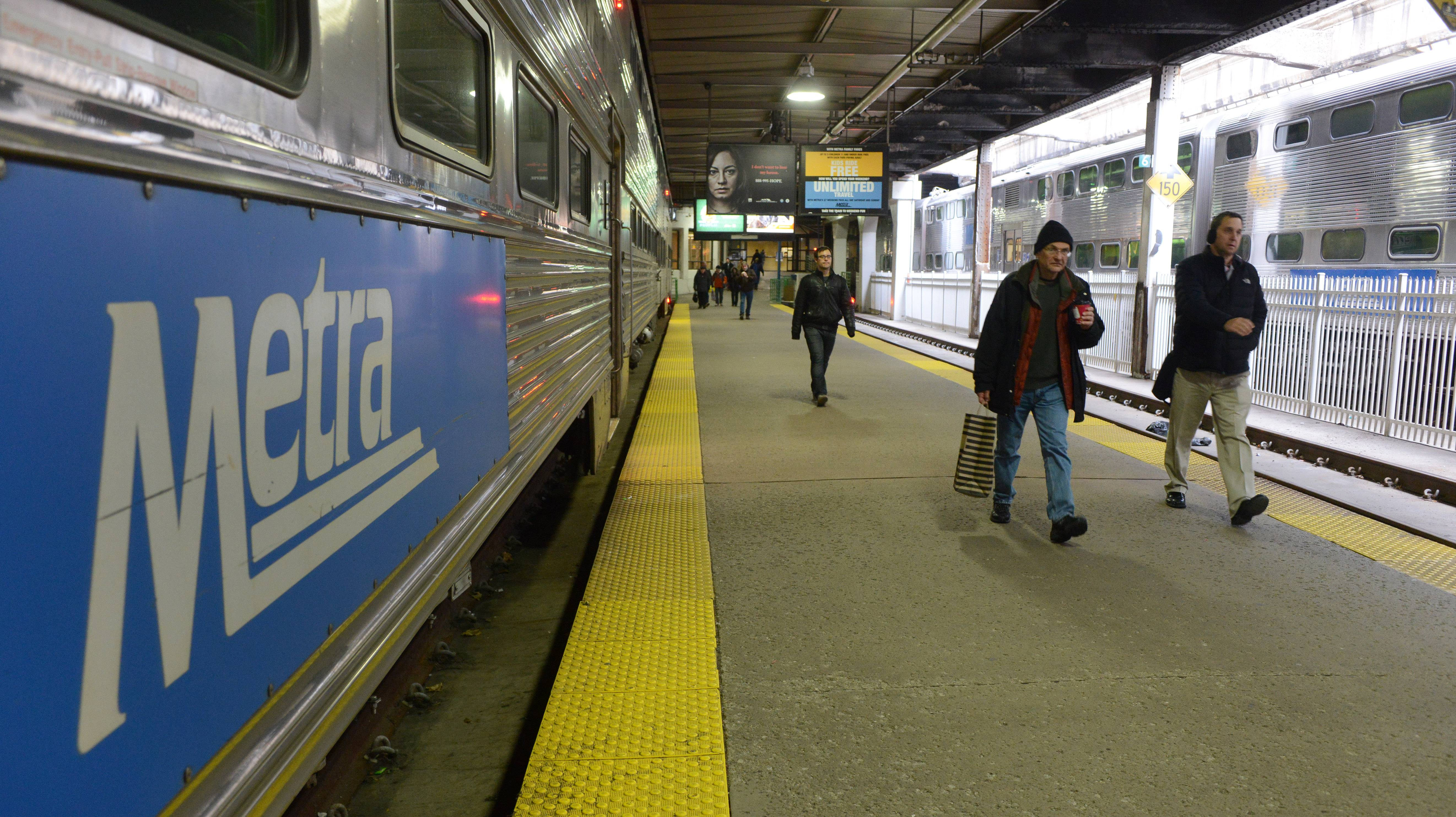 Will the new governor's budget plan affect Metra passengers?