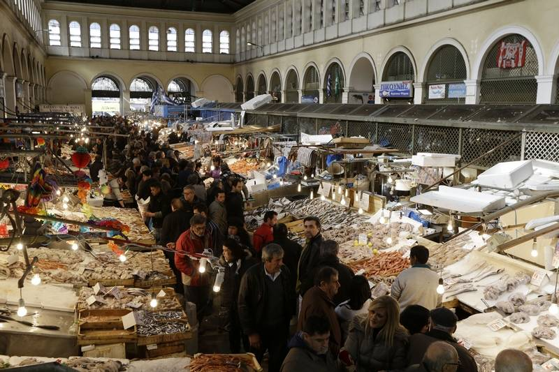 Stock market hits new high after greece gets loan extension for Andreas fish market