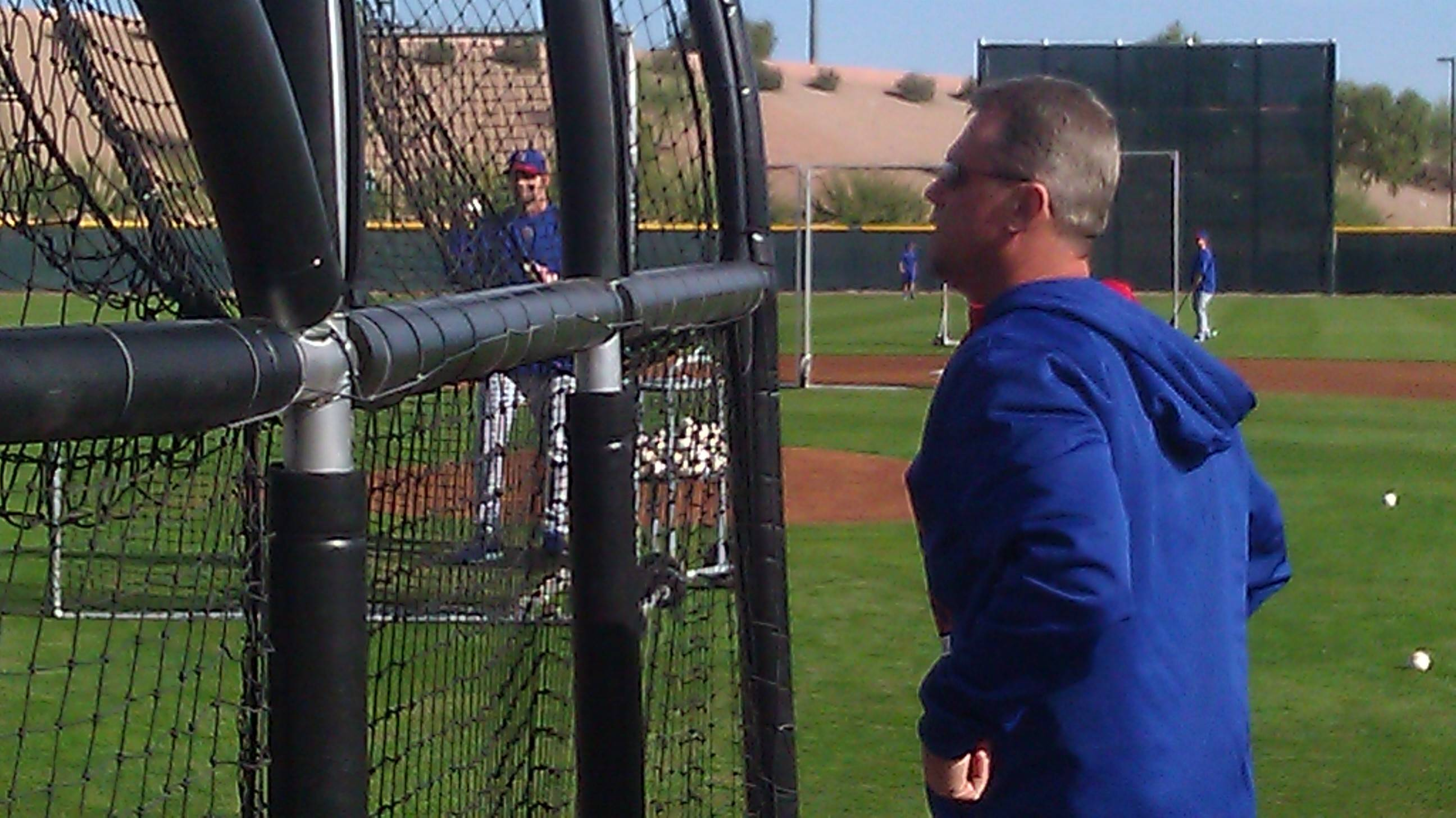 Bruce Miles/bmiles@dailyherald.comCubs spring training camp Mallee