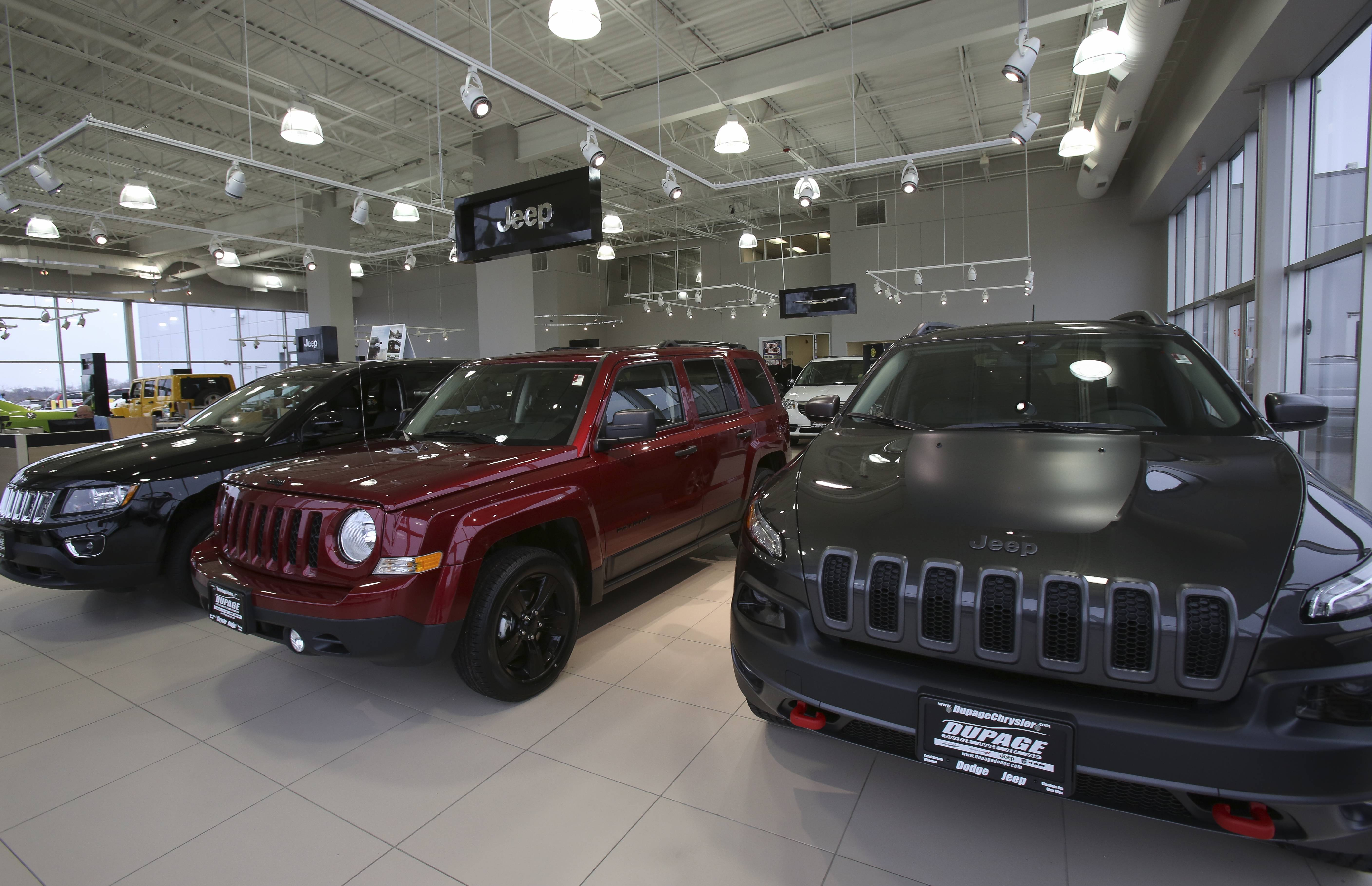 The Showroom At Chrysler Dodge Jeep Ram In Glendale Heights.