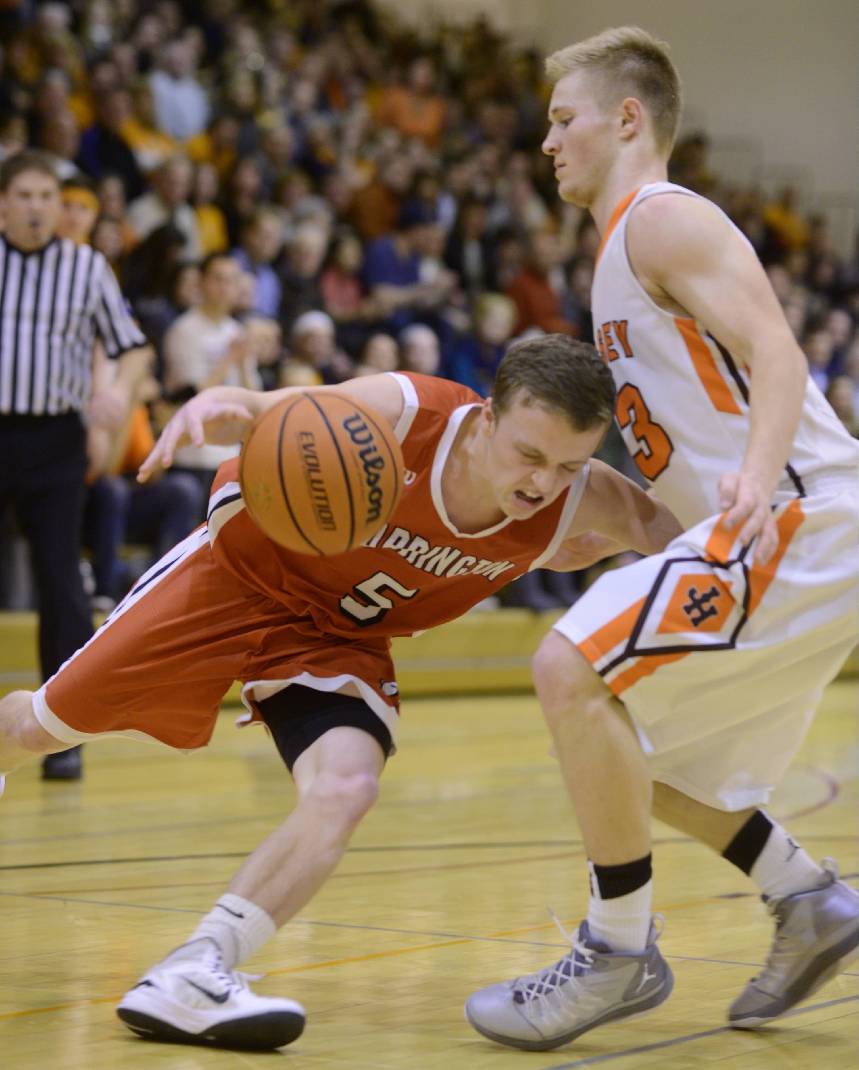 Photos from the Hersey vs. Barrington boys basketball game on Wednesday, Feb. 25.
