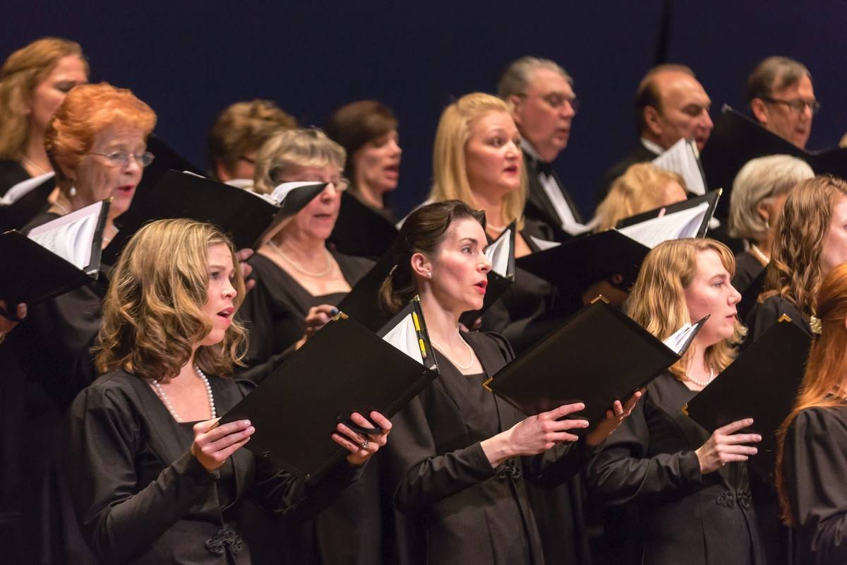 """The Elgin Master Chorale preforms """"Triumph and Transcendence"""" in November at Elgin Community College's Blizzard Theatre. Last year it changed its name from the Elgin Choral Union."""