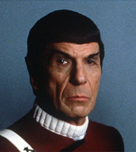Nimoy in 1982 to Dann Gire about Spock dying, and those eyebrows