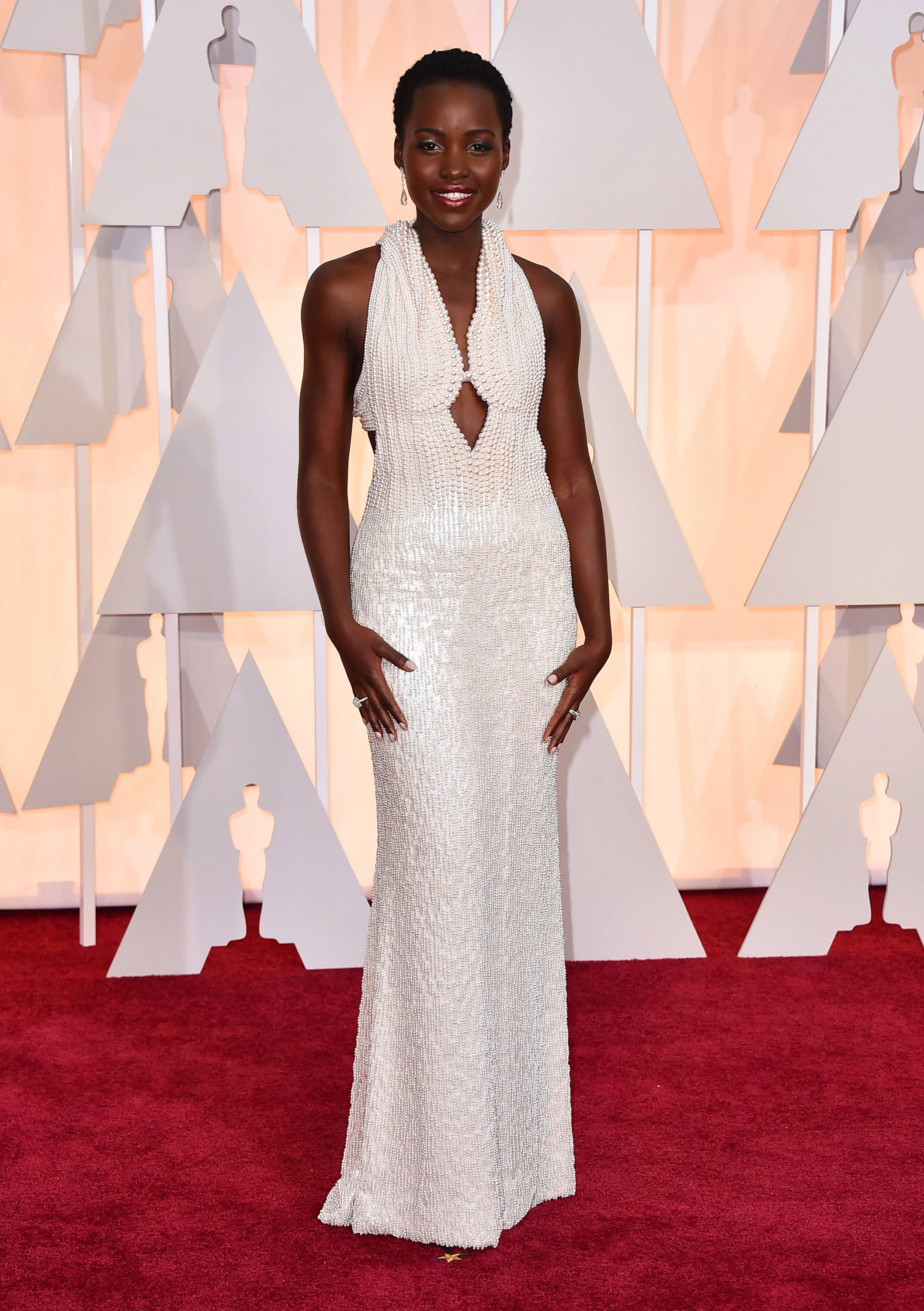 "Los Angeles sheriff's spokeswoman Nicole Nishida said on Friday that deputies have recovered a dress that ""greatly resembles"" the $150,000 custom Calvin Klein dress reported stolen from Lupita Nyong'o's hotel room earlier this week."