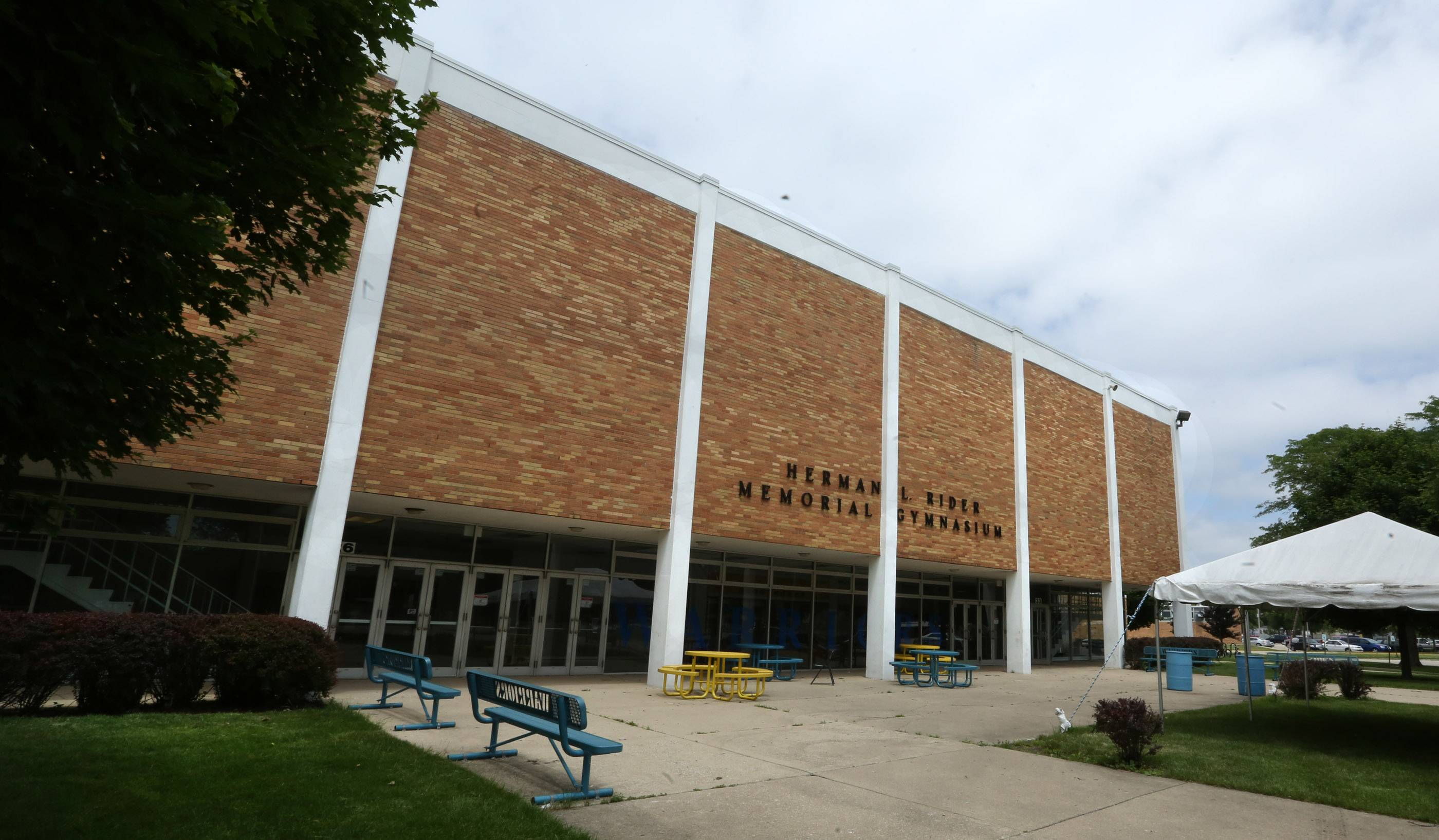 Maine West High School's gymnasium is due to receive a $10 million addition that includes a new wrestling room, dance studio and fitness center, and refurbished locker rooms and athletic offices.
