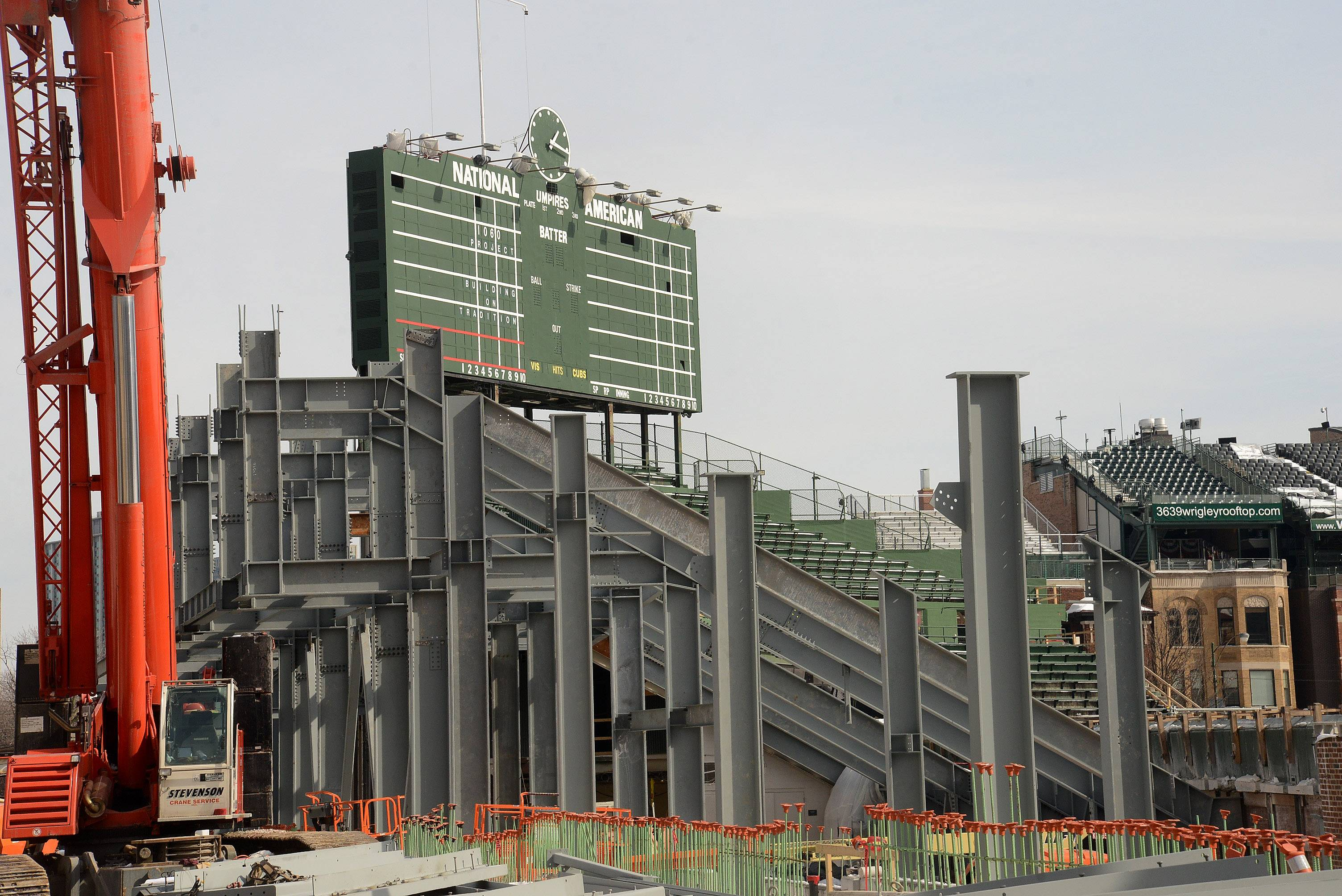 Cubs: Wrigley's right-field bleachers may be delayed until June