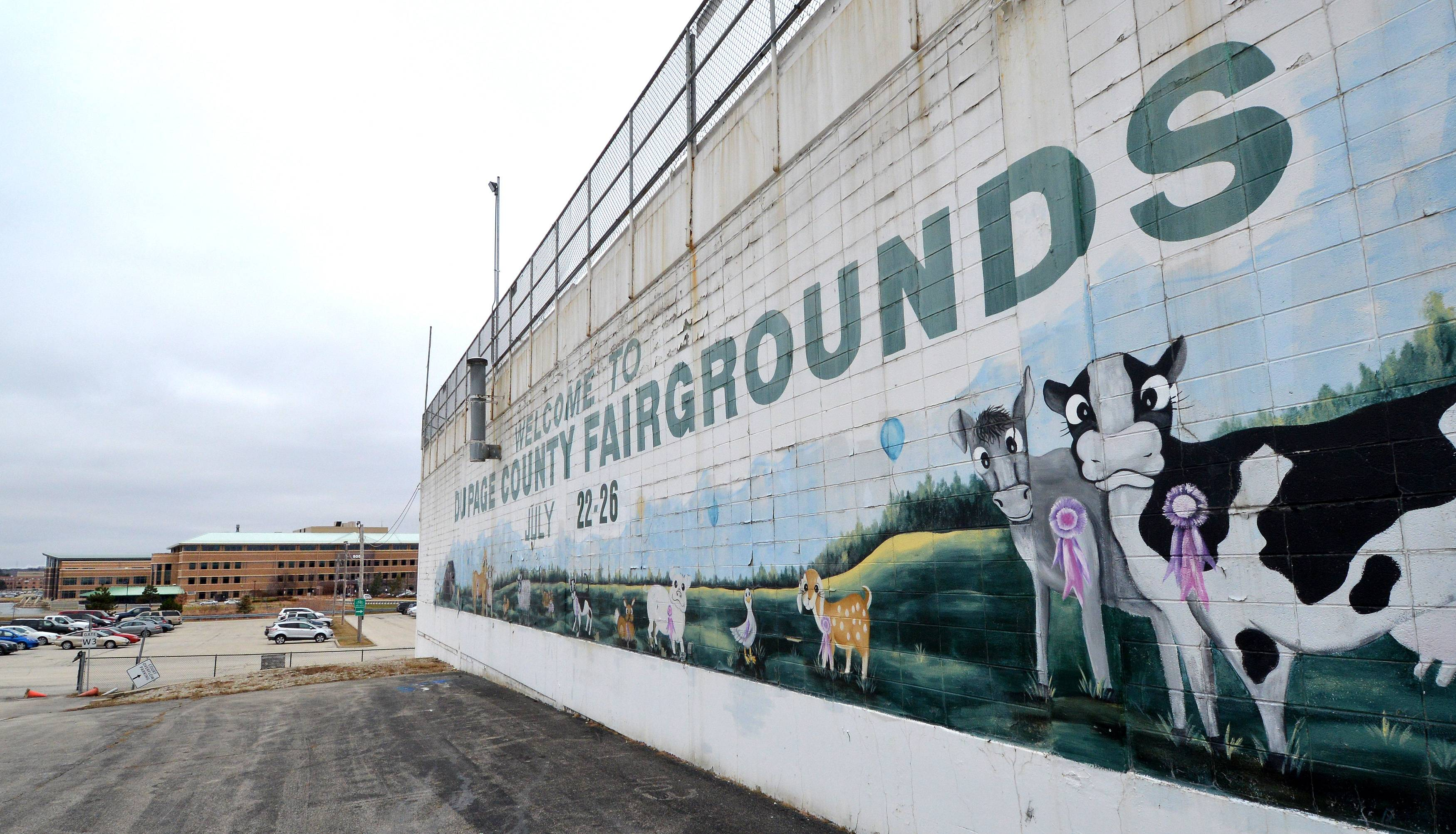 The DuPage County Fair is expected to open as planned this July, but organizers say they might not use the grandstand building, which is among of list of structures at the fairgrounds with code violations.