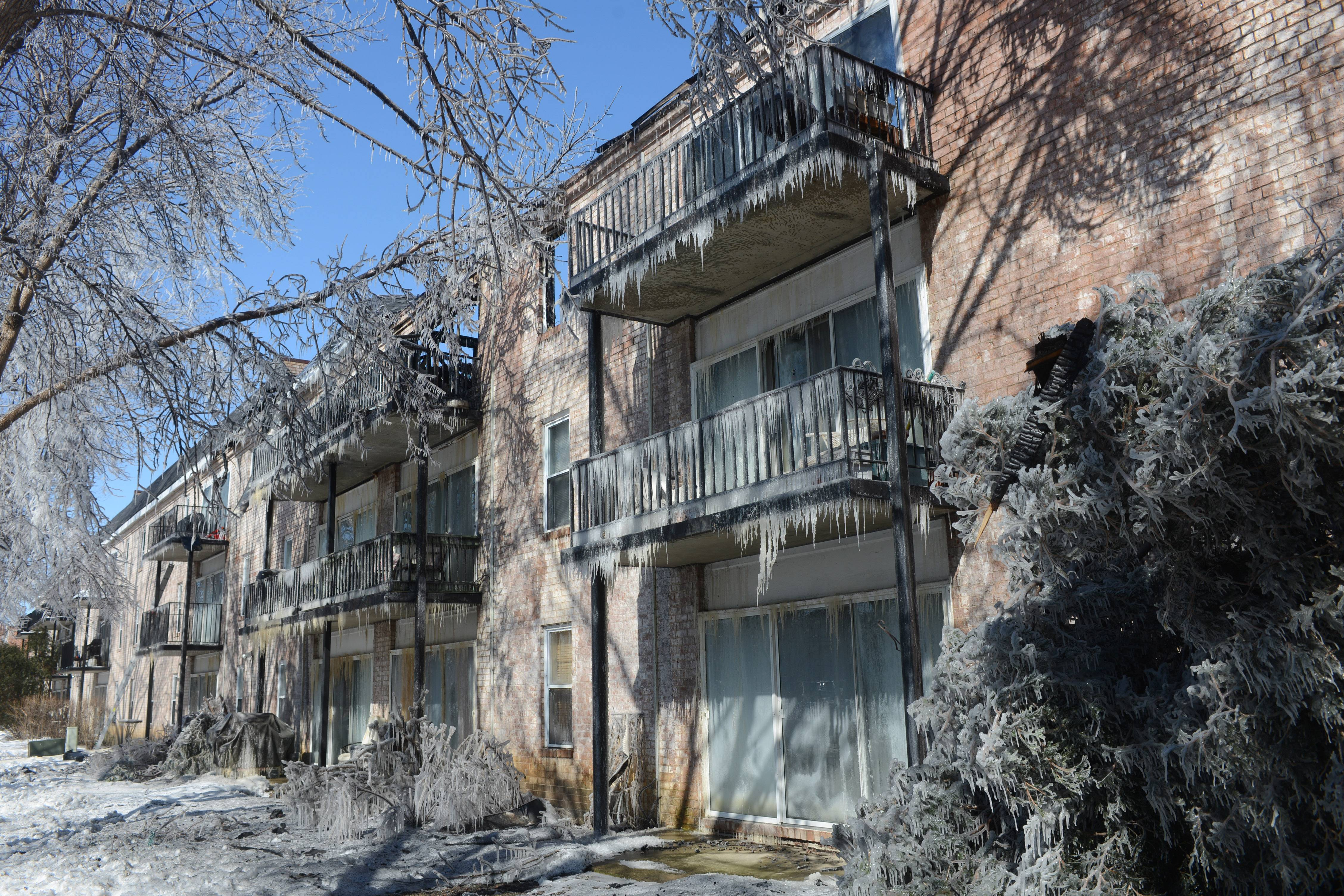 Images: Fatal Rolling Meadows Apartment Fire