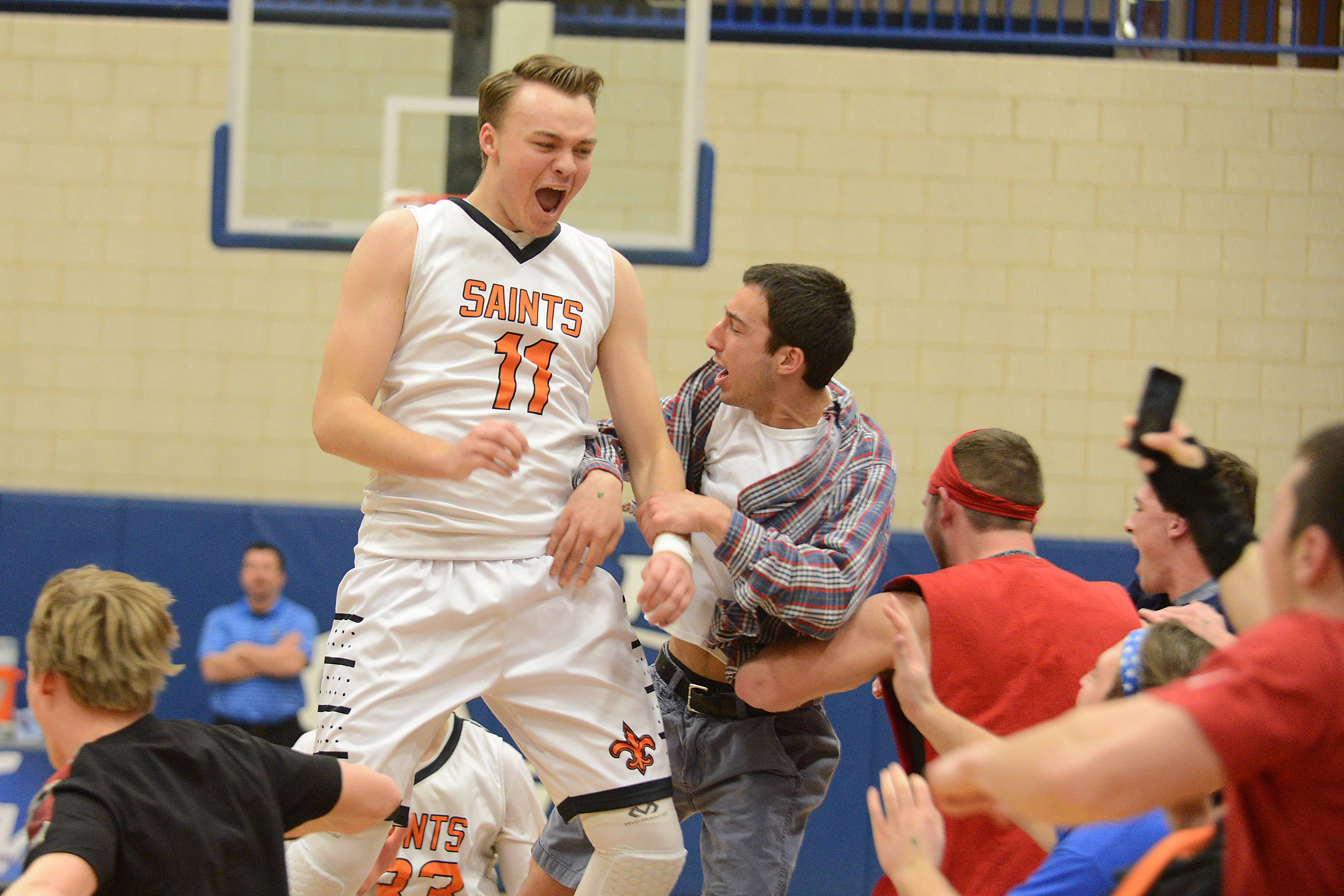 Images: St. Charles East vs. St. Charles North, boys basketball