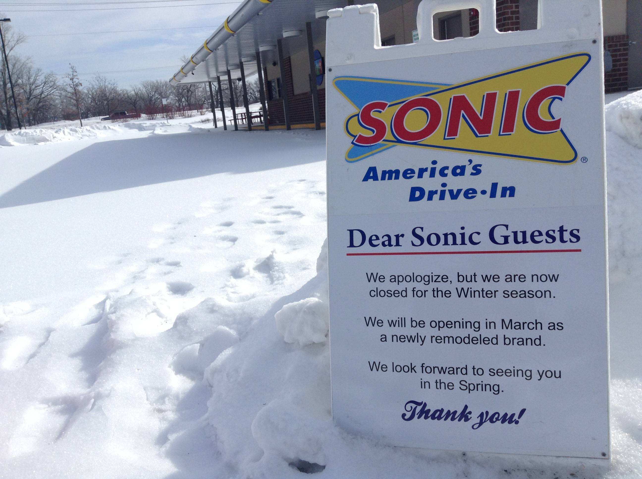 Dairy Queen replacing Sonic in Lake Zurich