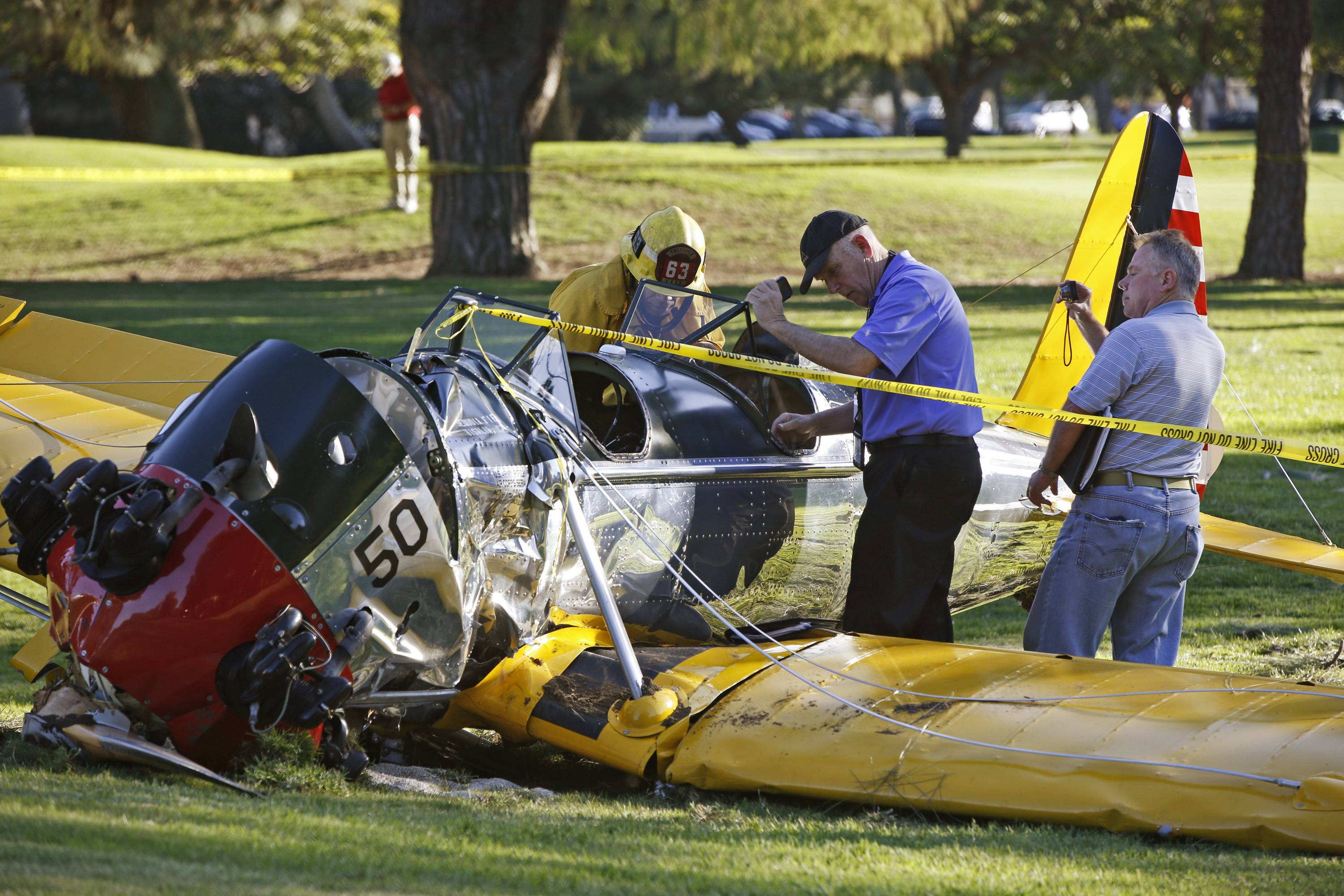 Harrison Ford's love of flight marked by mishaps, service to others