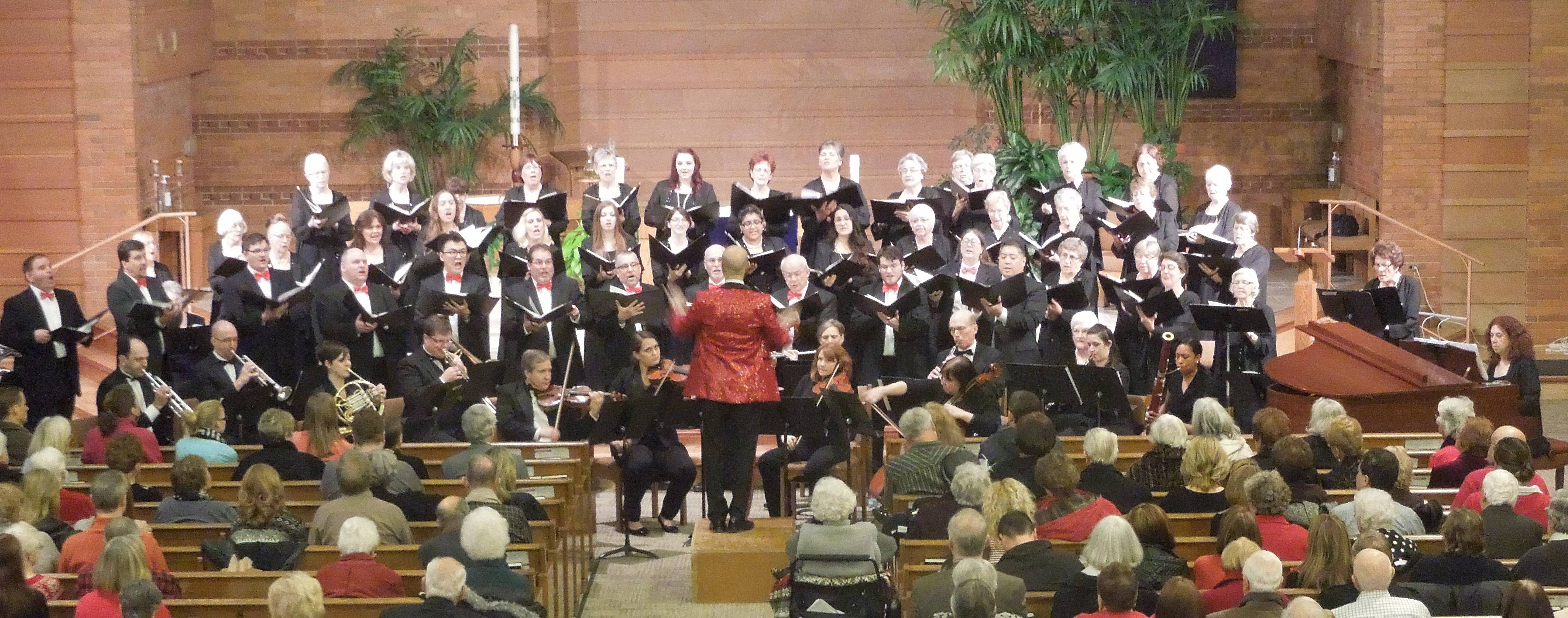 The Northwest Choral Society presents its 2014 holiday concert at St. Raymond's Church in Mt. Prospect, IL. Northwest Choral Society