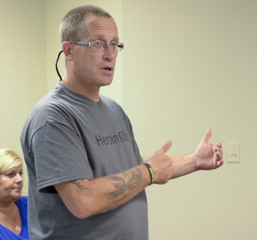 Naperville's Tim Ryan, a recovering heroin addict who lost his son, Nick, to an overdose last year, will be a featured speaker Tuesday at a heroin forum in Batavia.