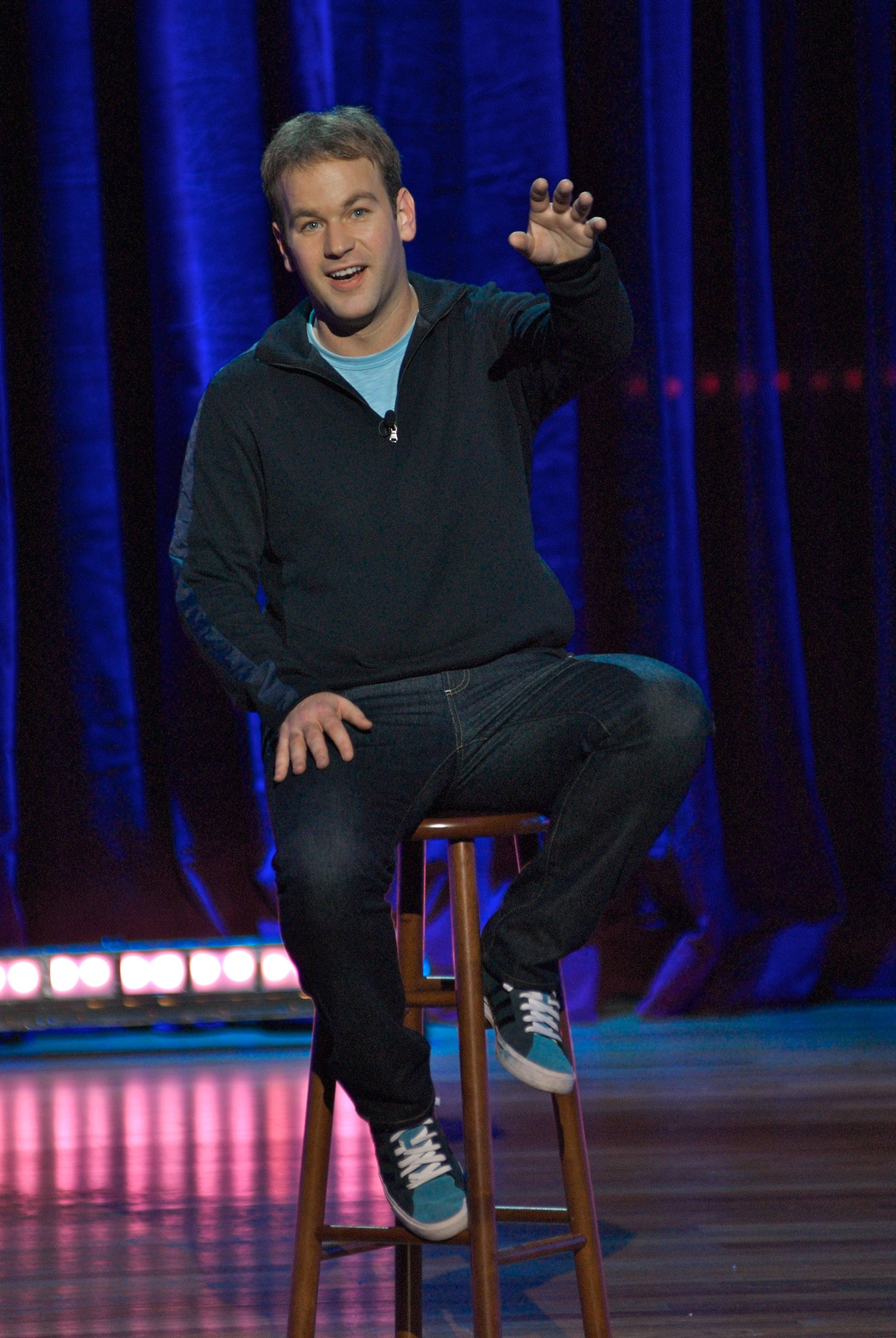 Comedian Mike Birbiglia performs at Belushi Performance Hall at College of DuPage's McAninch Arts Center in Glen Ellyn on Friday, March 13.