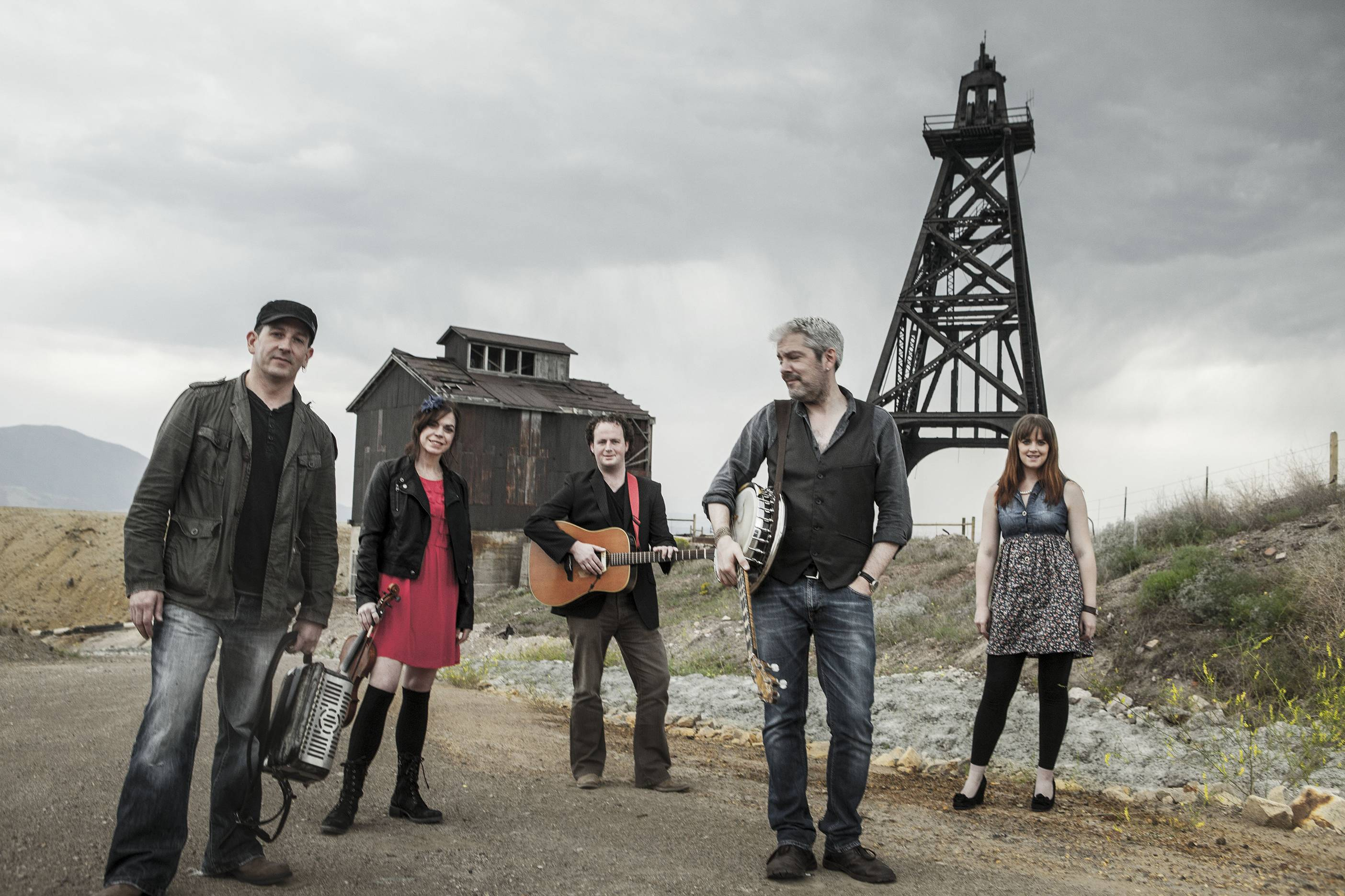 Acclaimed Irish-American band Solas performs its multimedia musical journey to historic Shamrock City at 7:30 p.m. Saturday, March 14, at Elgin Community College's Blizzard Theatre.