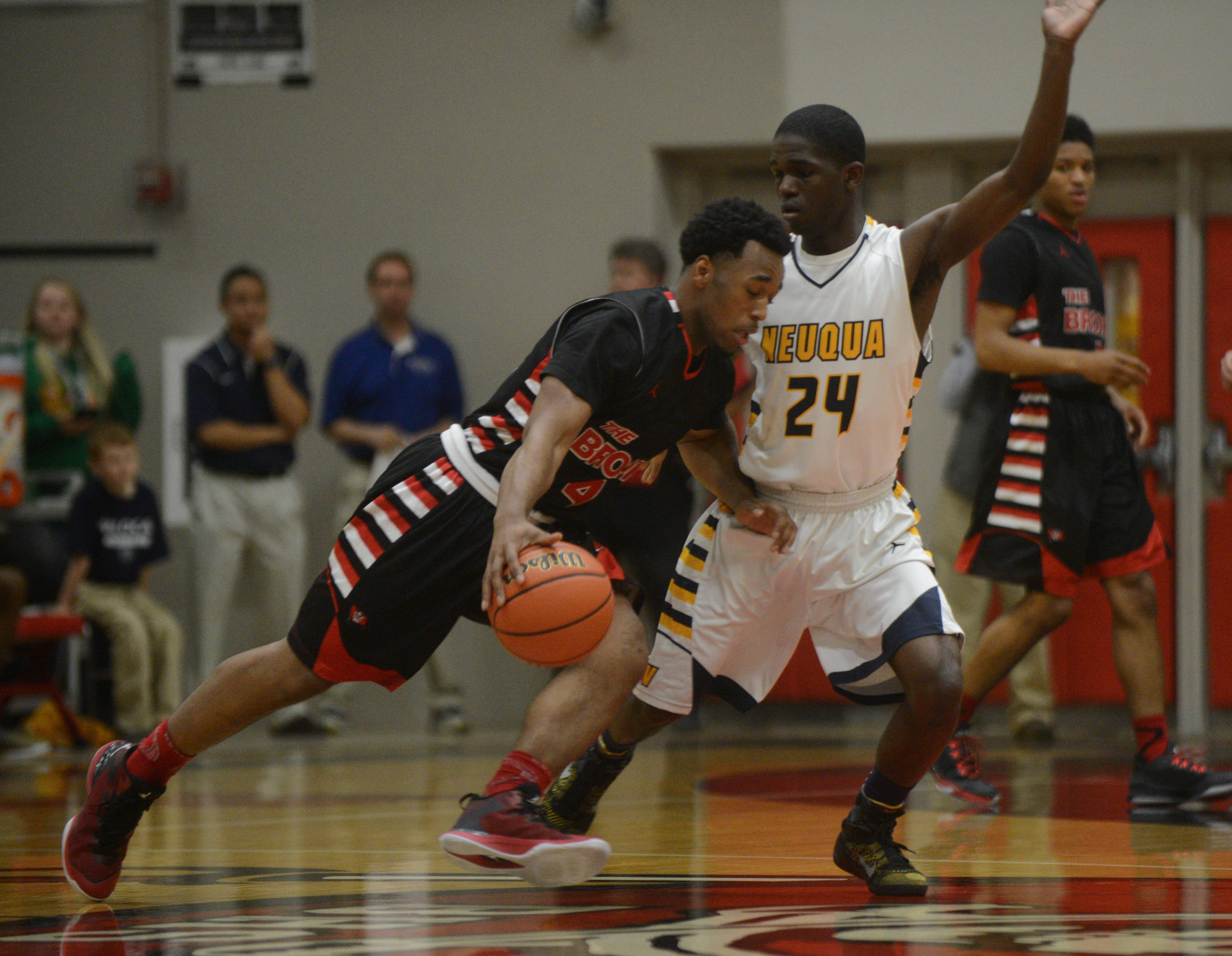 Images from the Neuqua Valley vs. Bolingbrook Class 4A sectional final boys basketball game on Friday, March 13.