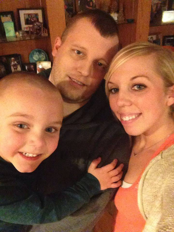 30-year-old Dan Nerstrom, shown here with girlfriend Amanda Tiffany and her son Austin, had been missing since Dec. 1.