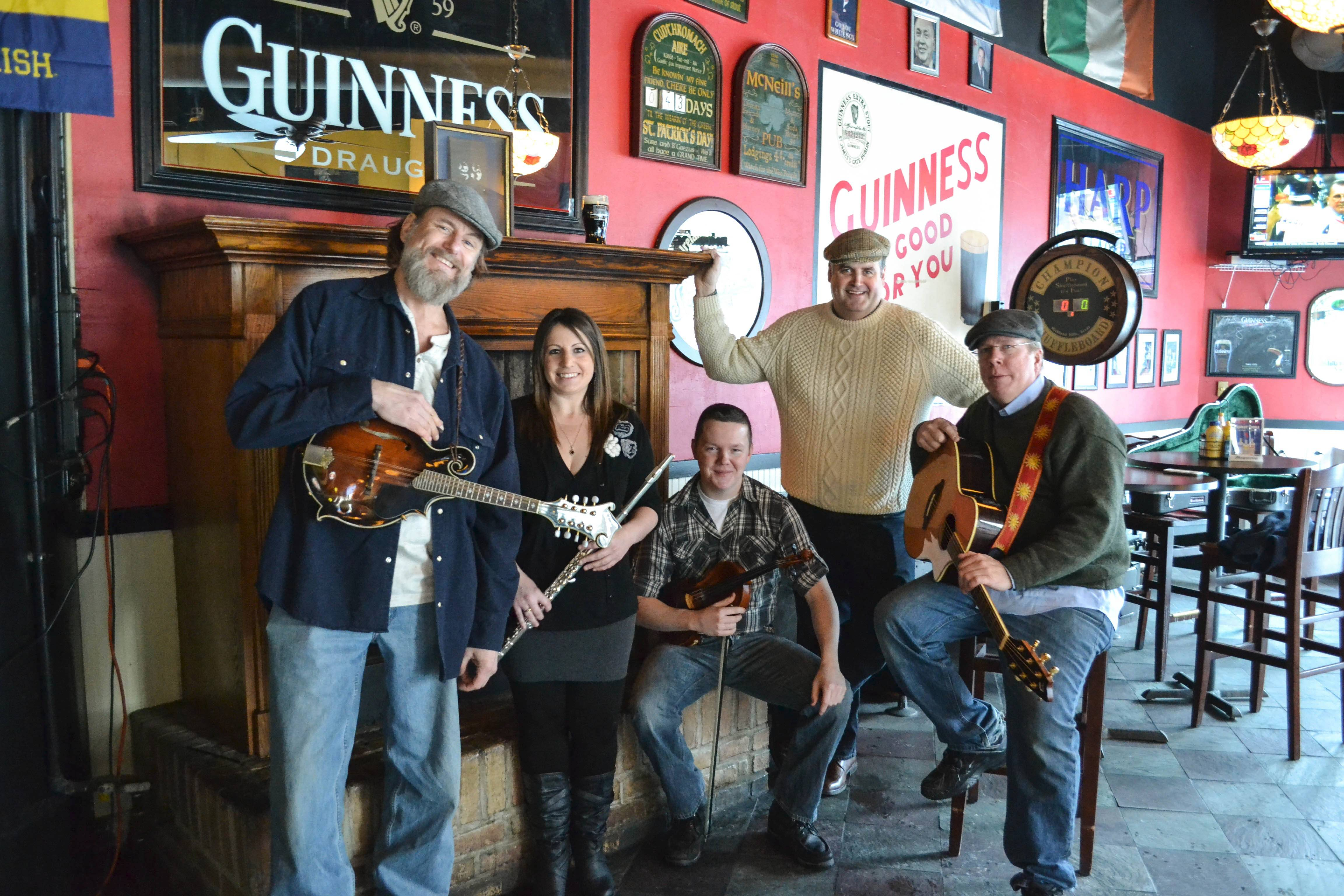 The Chancey Brothers headline a concert at Chicago's Irish American Heritage Center.