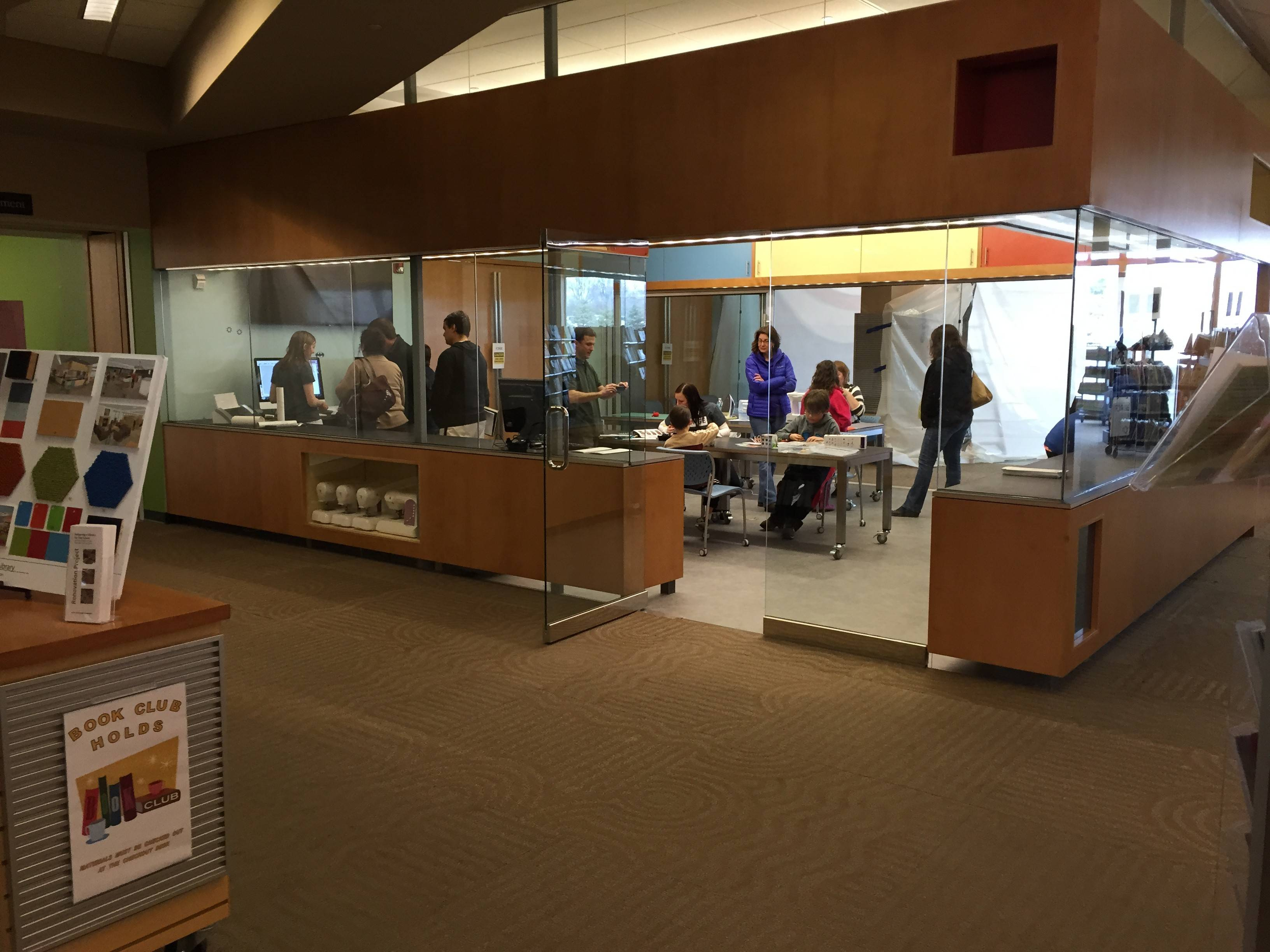 The Ela Area Public Library's new Forge makerspace features a 3-D printer, a vinyl cutter and other equipment patrons can use to create projects.