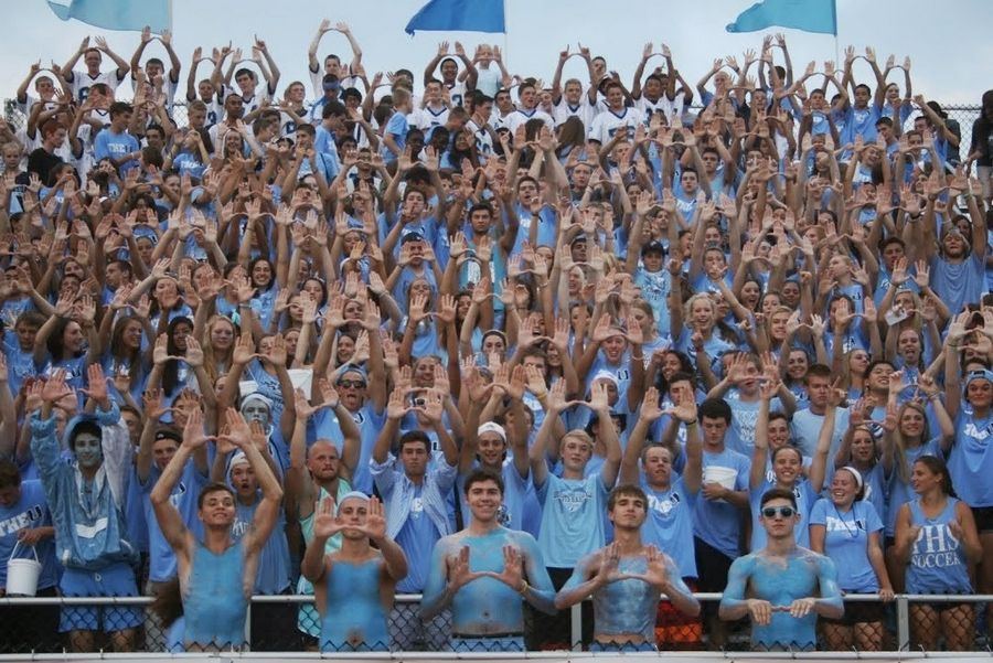 Prospect H.S. student section in the running for best in state