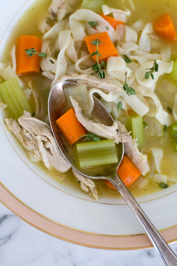 Culinary adventures: Homemade noodles, from-scratch broth add to chicken soup