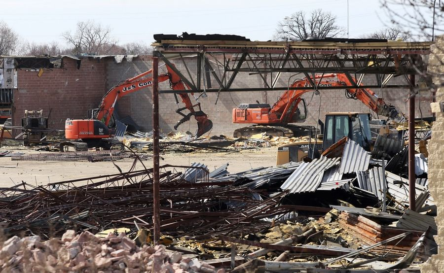 Cool Demolition Clears Way For Meijer In Round Lake Beach Ibusinesslaw Wood Chair Design Ideas Ibusinesslaworg