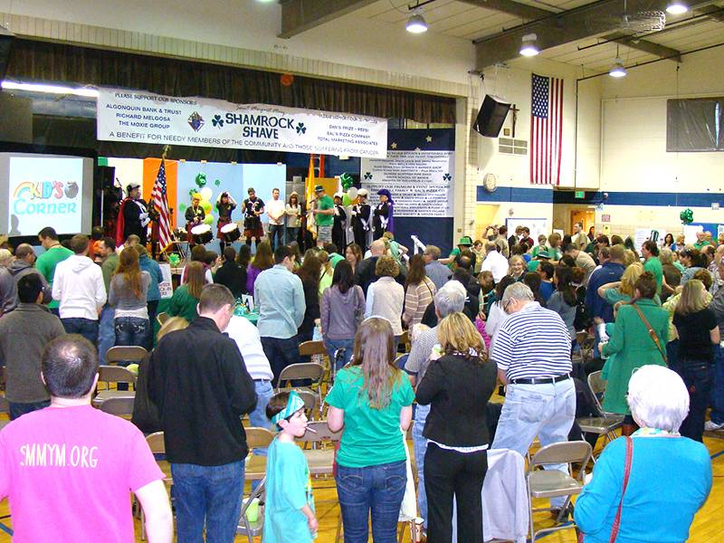 "St. Margaret Mary's annual ""Shamrock Shave"" raised more than $62,500 for needy in the community and pediatric cancer research."