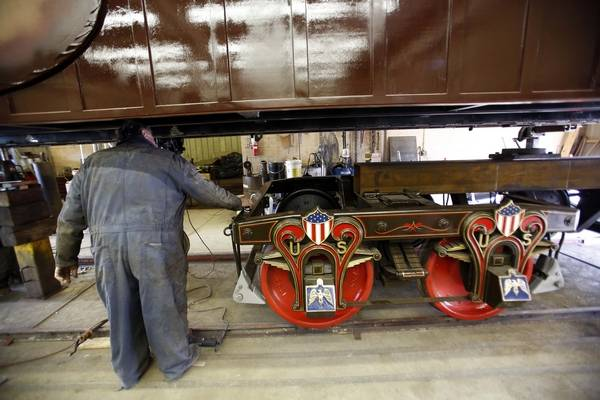 Plans For Elgin Made Replica Lincoln Funeral Train Car Derailed