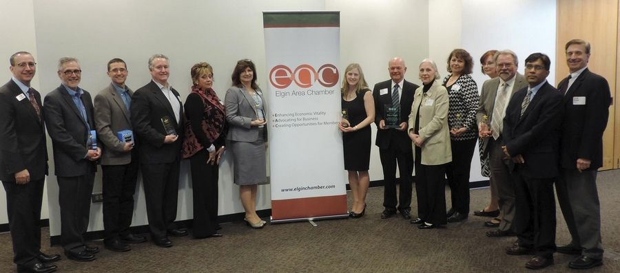 The Elgin Area Chamber of Commerce held its annual awards luncheon March 19 at Elgin Community College.