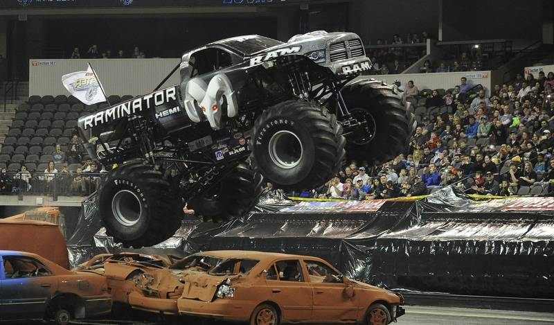 Monster Truck Nationals Open At Sears Centre