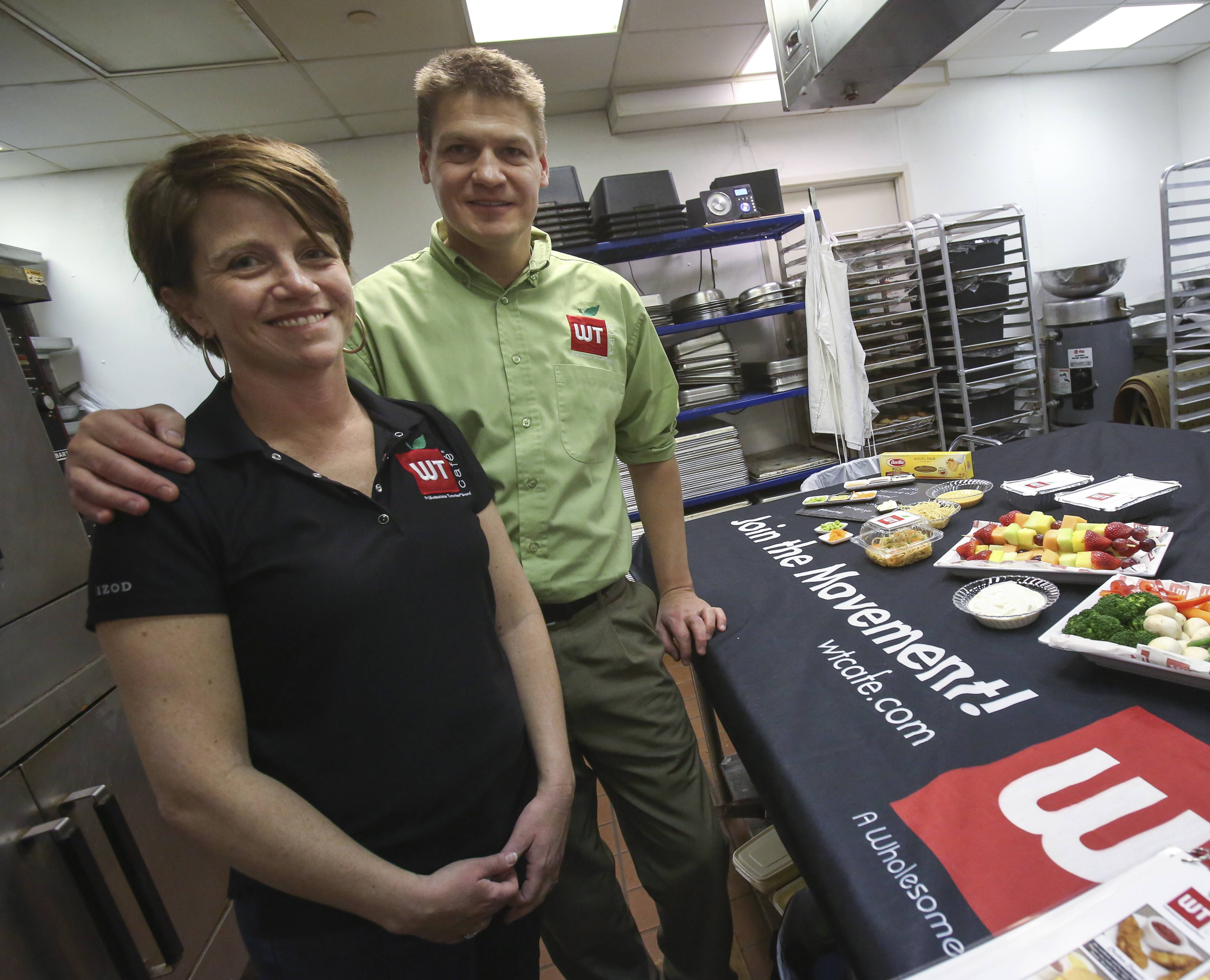 Mimi and Matt Tolkin of Lombard are launching WT Cafe Naperville, a new school lunch business with a focus on health and fresh ingredients.