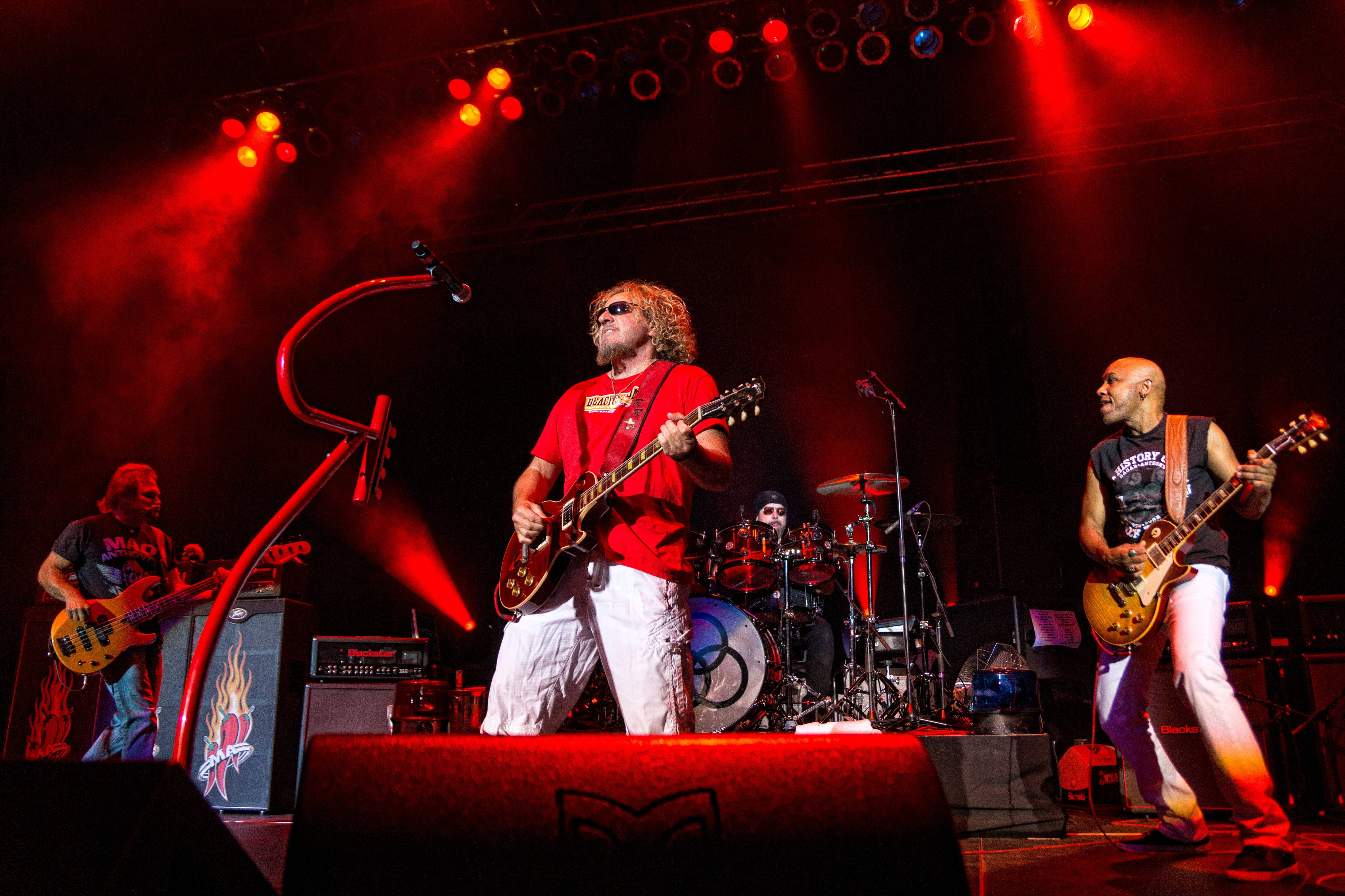 Sammy Hagar and The Circle band will perform July 3 at Ribfest in Naperville.