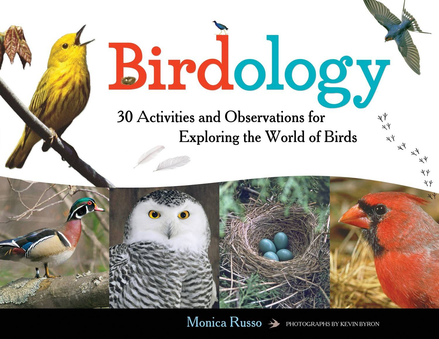 """Birdology"" by Monica Russo, photographs by Kevin Byron (2015, Chicago Review Press), $15.95, 108 pages."
