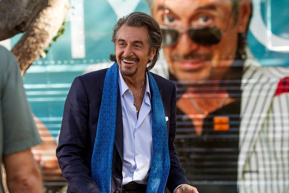 "An aging rock star (Al Pacino) recycles his hits until a letter changes his life in ""Danny Collins."""