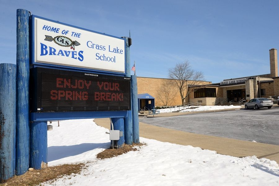 An April 7 referendum question will ask Grass Lake Elementary District 36 voters to approve an $11.6 million school construction project to replace the 68-year-old Grass Lake School near Antioch.