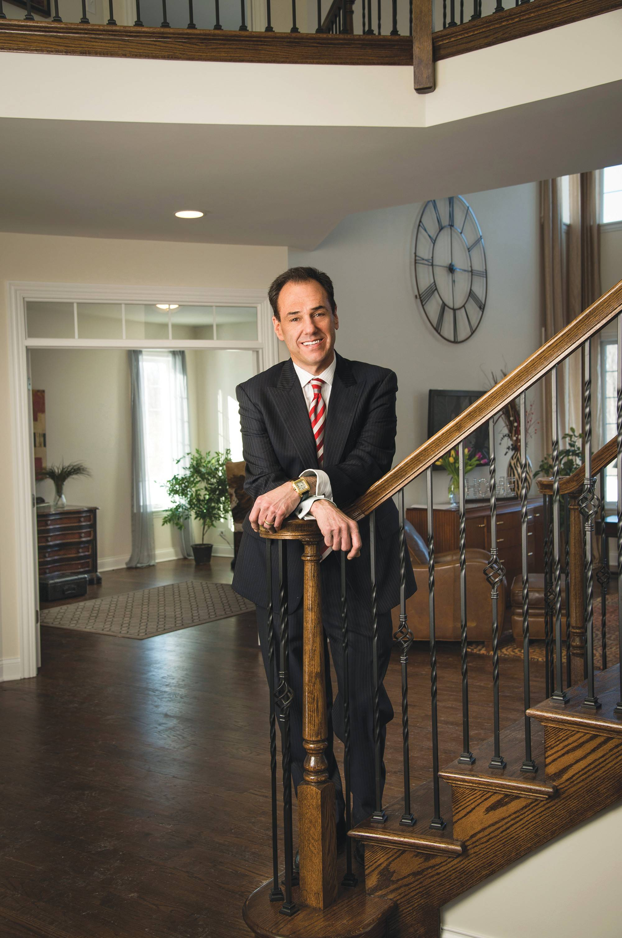 Jeff Benach, co-principal for Lexington Homes, says the company now does things much differently after the Great Recession.