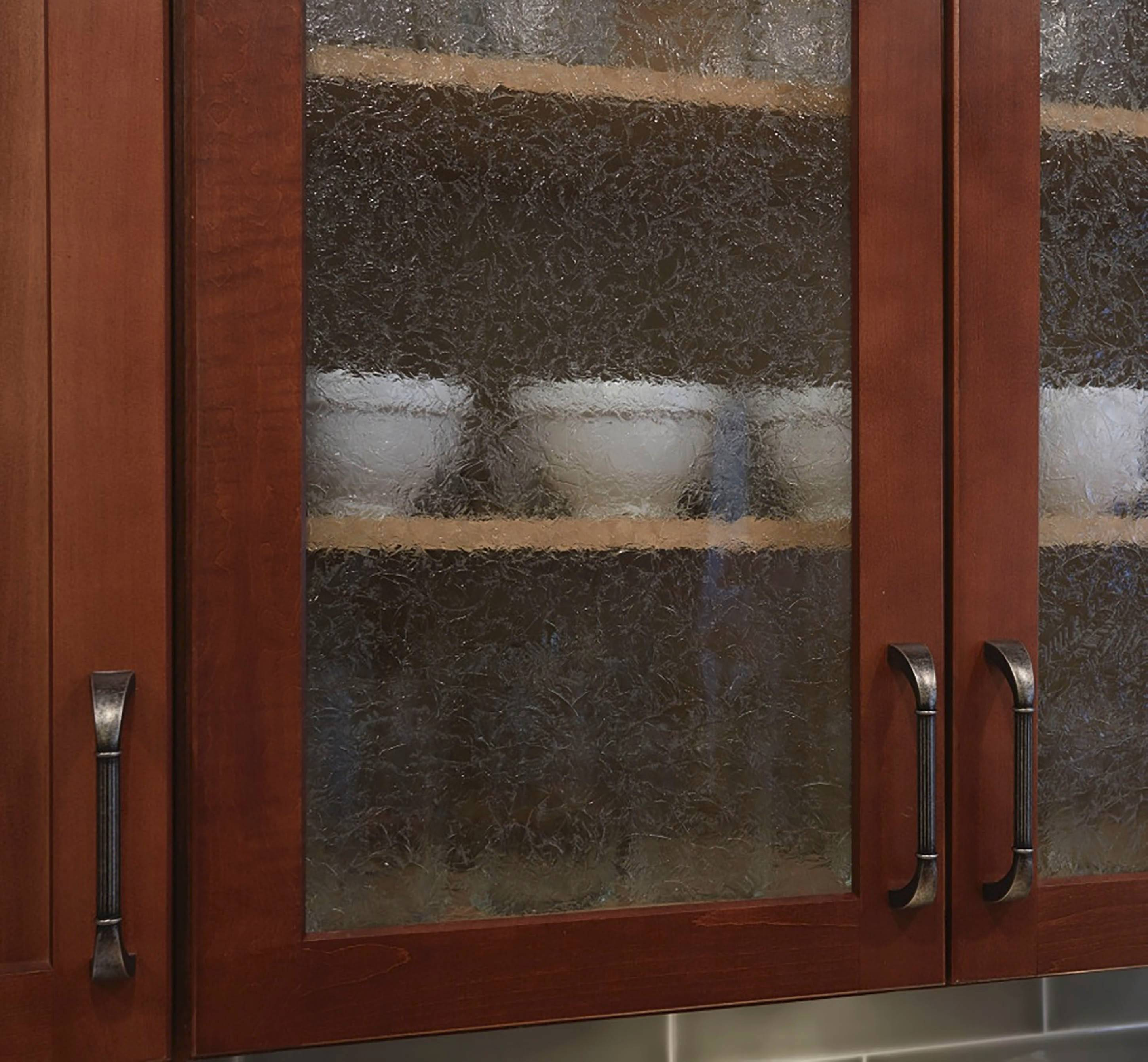 French Glass Kitchen Cabinet Doors: Oak Park Family Builds A Dream Kitchen