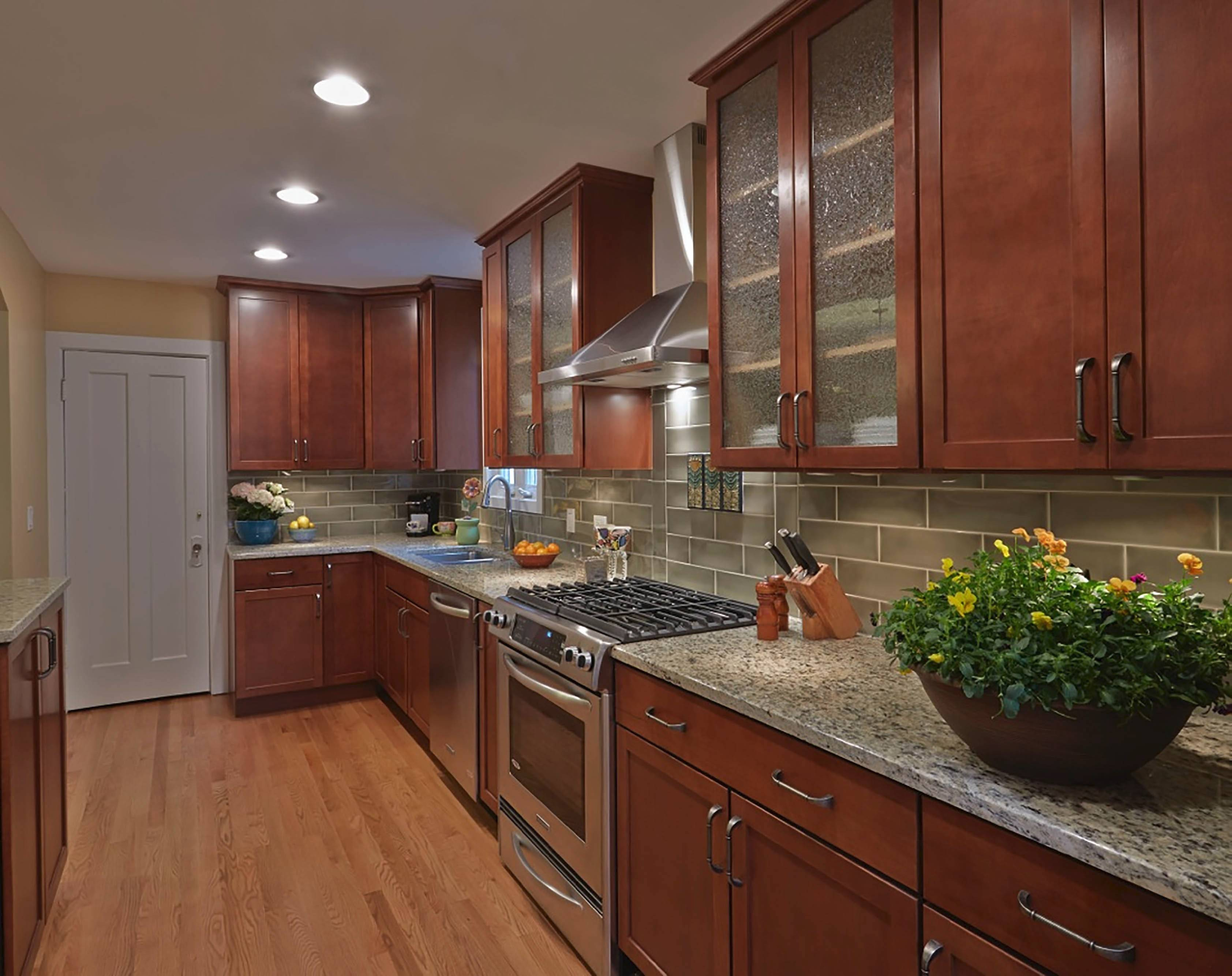 The Primary Visual Focus Of A Kitchen Is Its Cabinetry Homeowners Chose Kraft  Maid