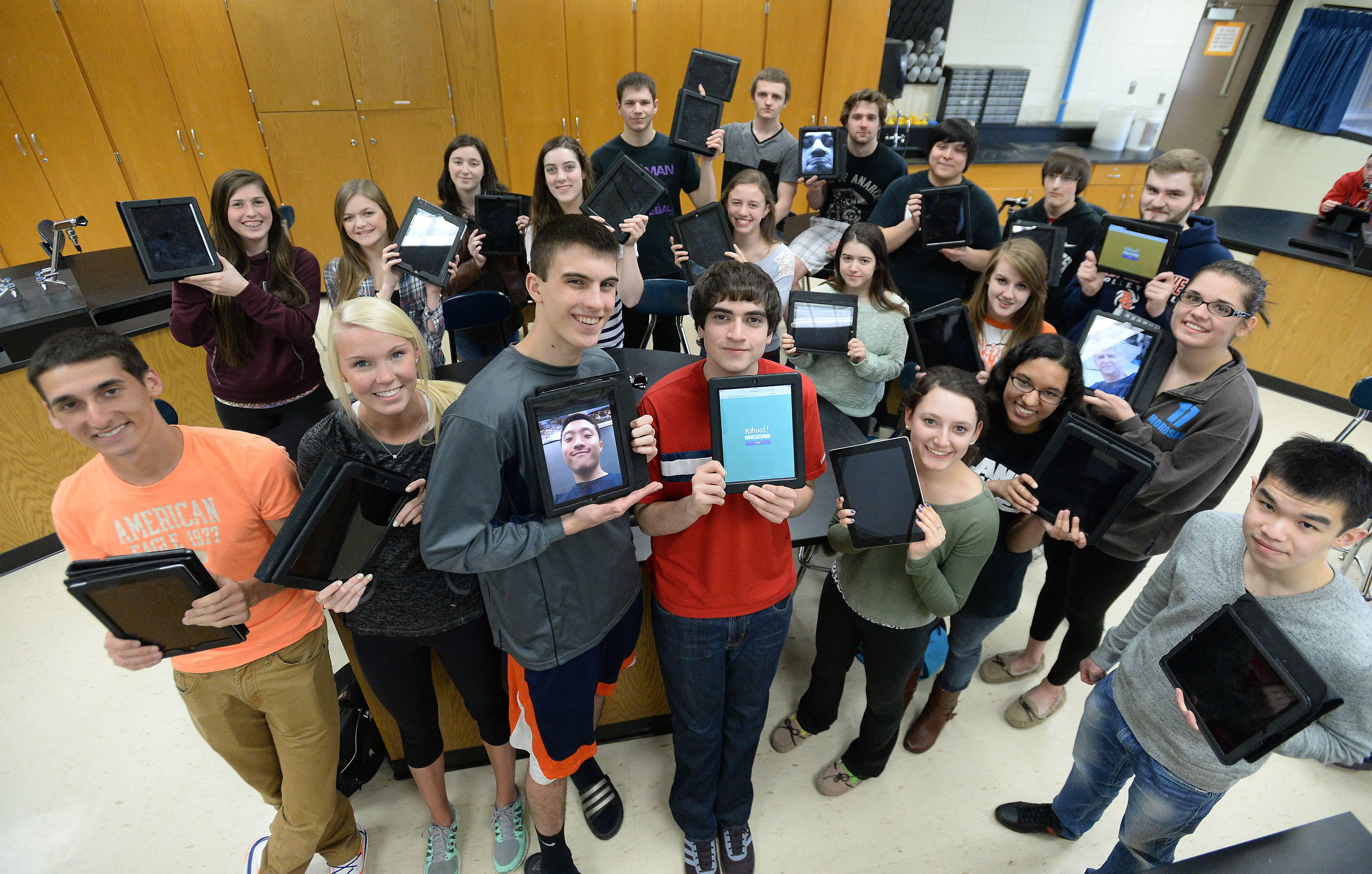 Every District 214 student will have an iPad within two years