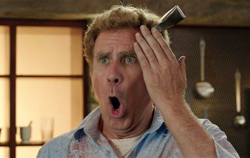 "In this image released by Warner Bros. Entertainment Inc., Will Ferrell appears in a scene from the film, ""Get Hard."" (AP Photo/Warner Bros. Entertainment Inc.)"