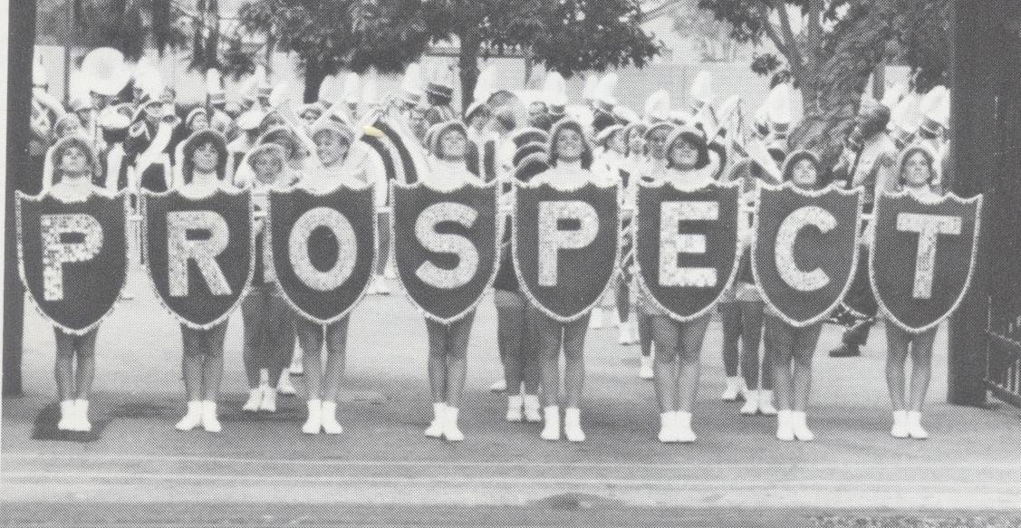 214@100: Prospect Marching Knights in 1986 Rose Bowl parade