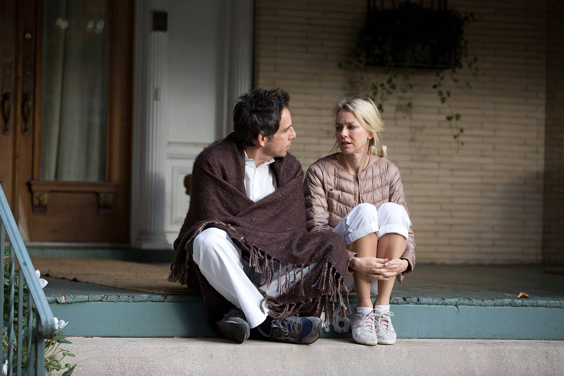 "Josh and Cornelia (Ben Stiller and Naomi Watts) face anxiety about growing older in ""While We're Young."""