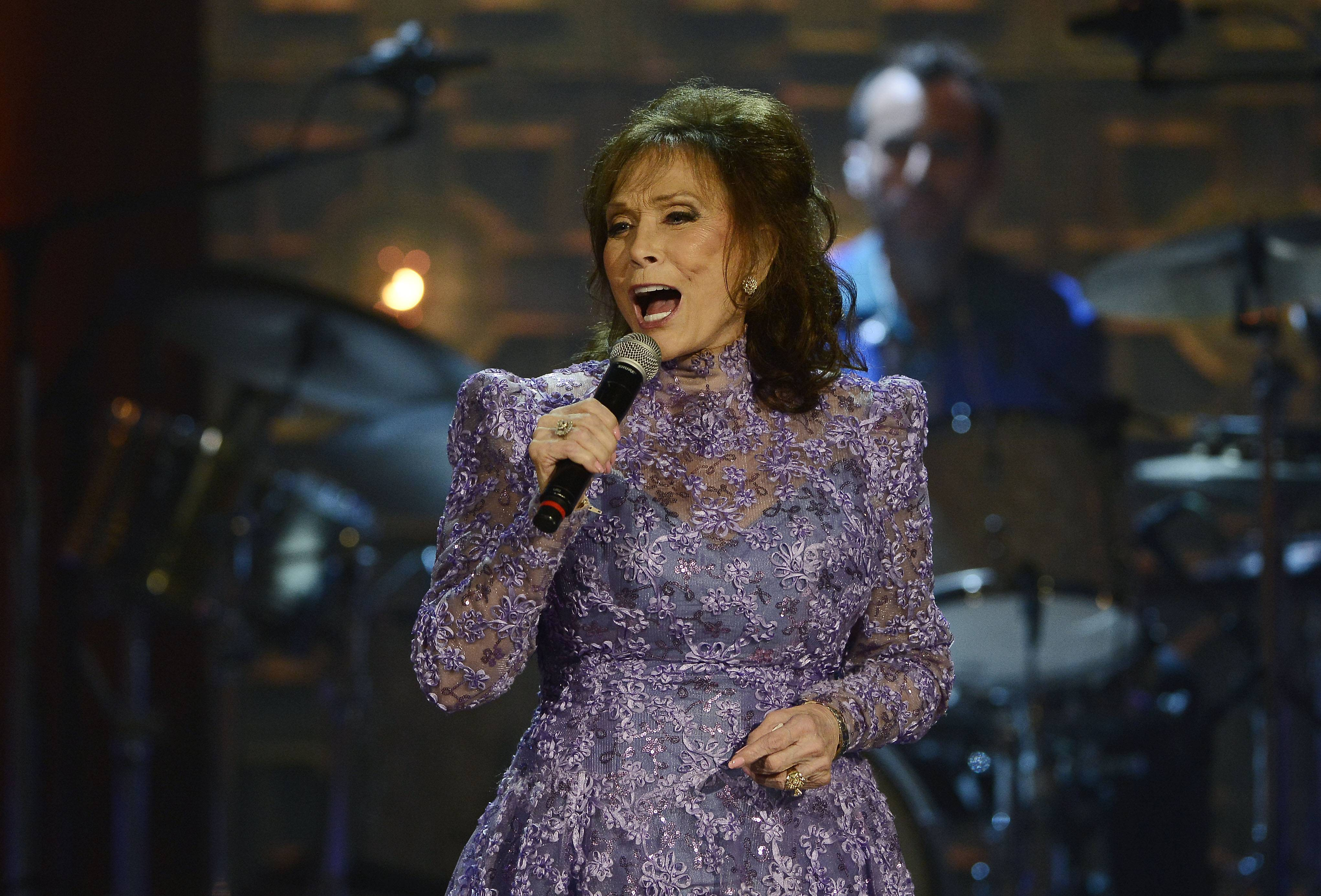 Loretta Lynn performs during the Americana Music Honors and Awards show last September in Nashville, Tennessee.