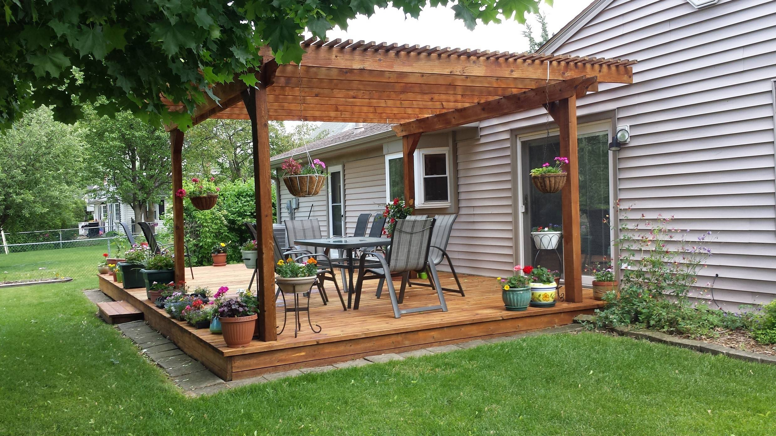 Deck Monkeys provides a range of home cleaning services, but its specialty is staining decks with Australian timber oil.