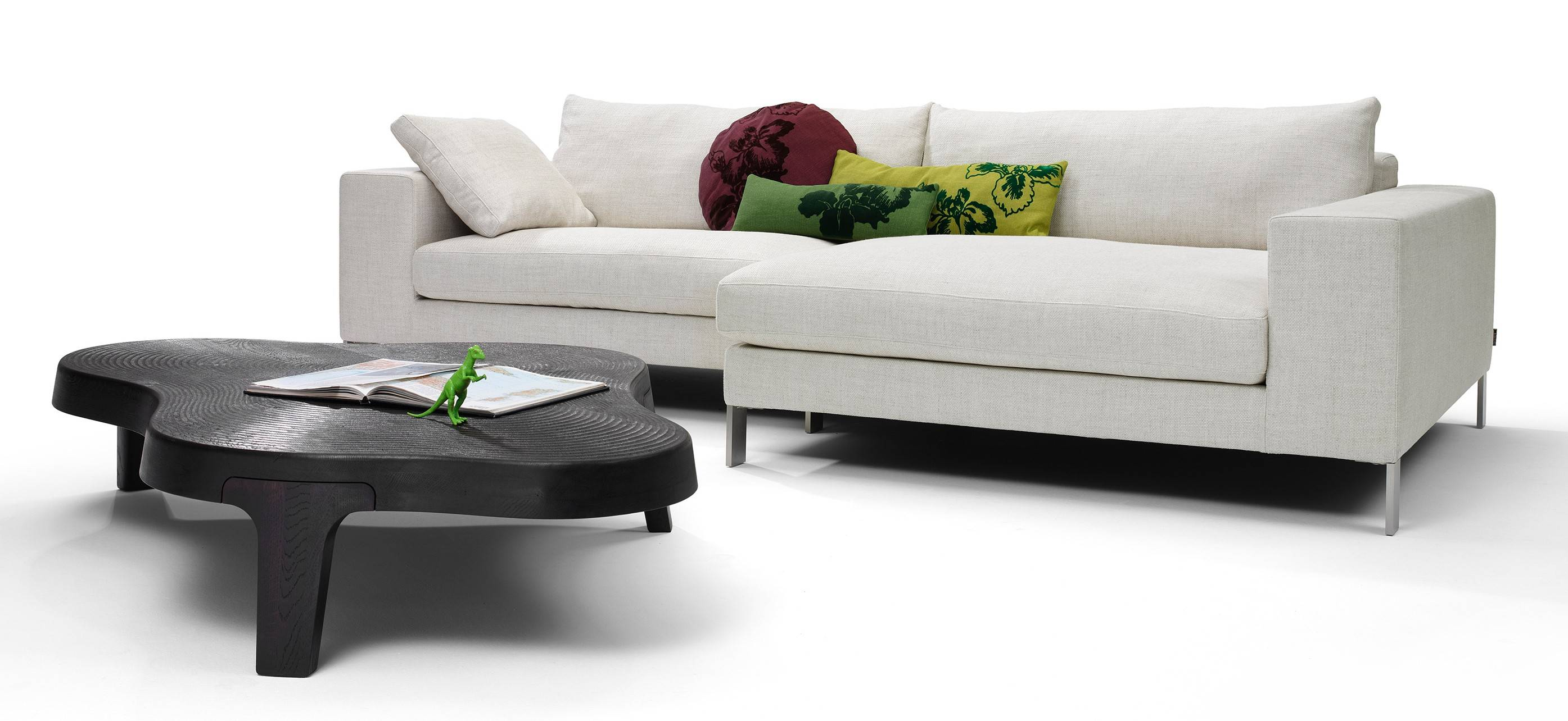 The Plaza small sectional sofa ($10,379) can be found on Hive Modern.