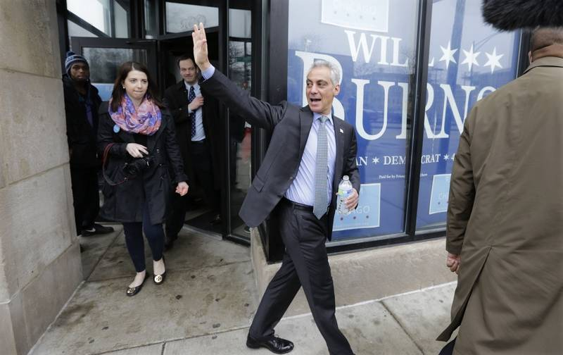 Emanuel thanks voters for challenging him