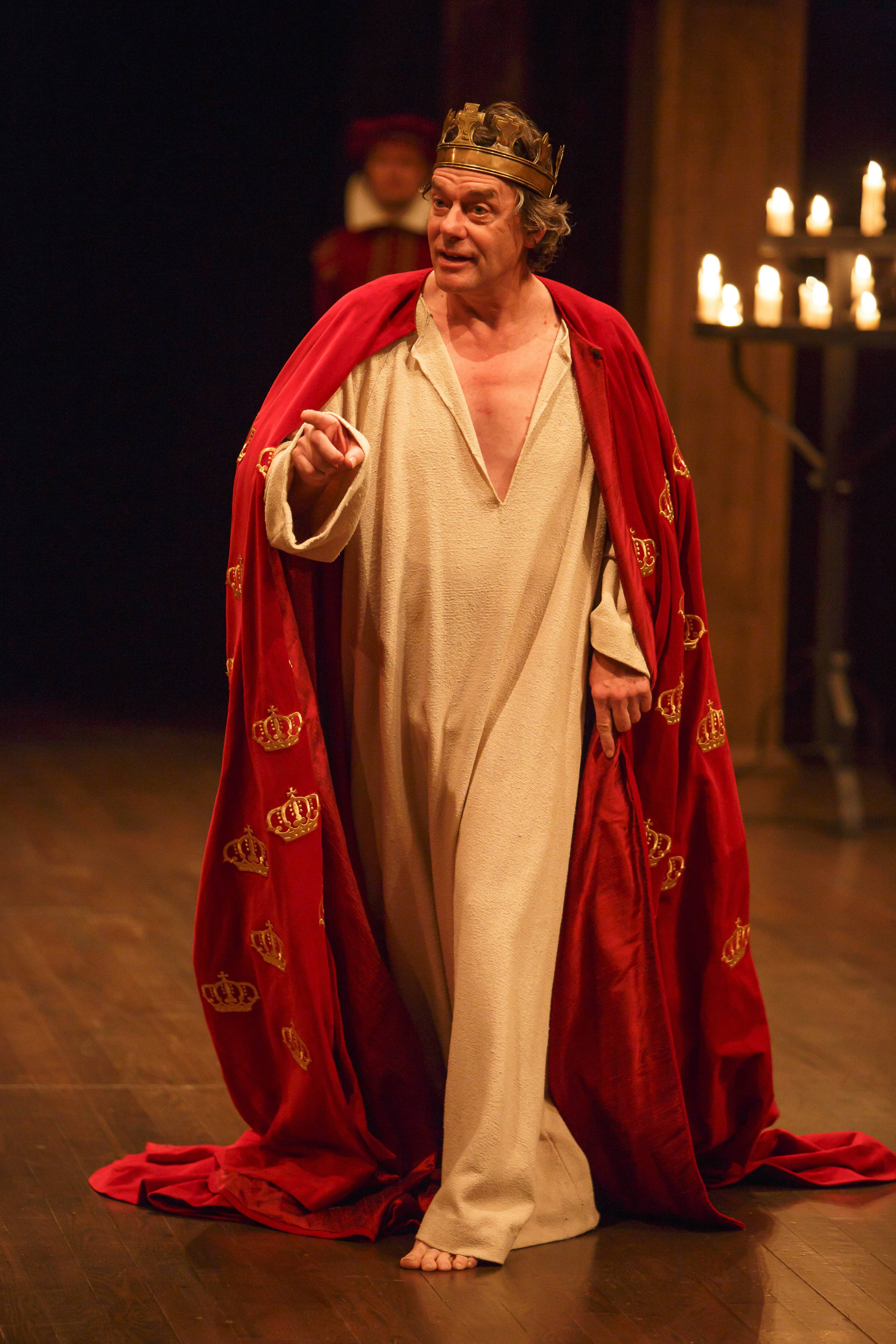 "Tom McCamus plays the titular character in the Stratford Festival production of William Shakespeare's ""King John."""