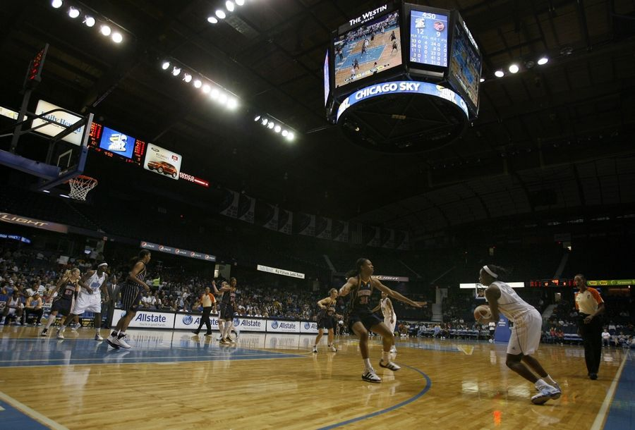 The Chicago Sky, which has played home games at the Allstate Arena in Rosemont since 2010, signed an three-year extension to continue playing there. Under the deal, the Sky will pay Rosemont a $9,500 per game facility rental fee.