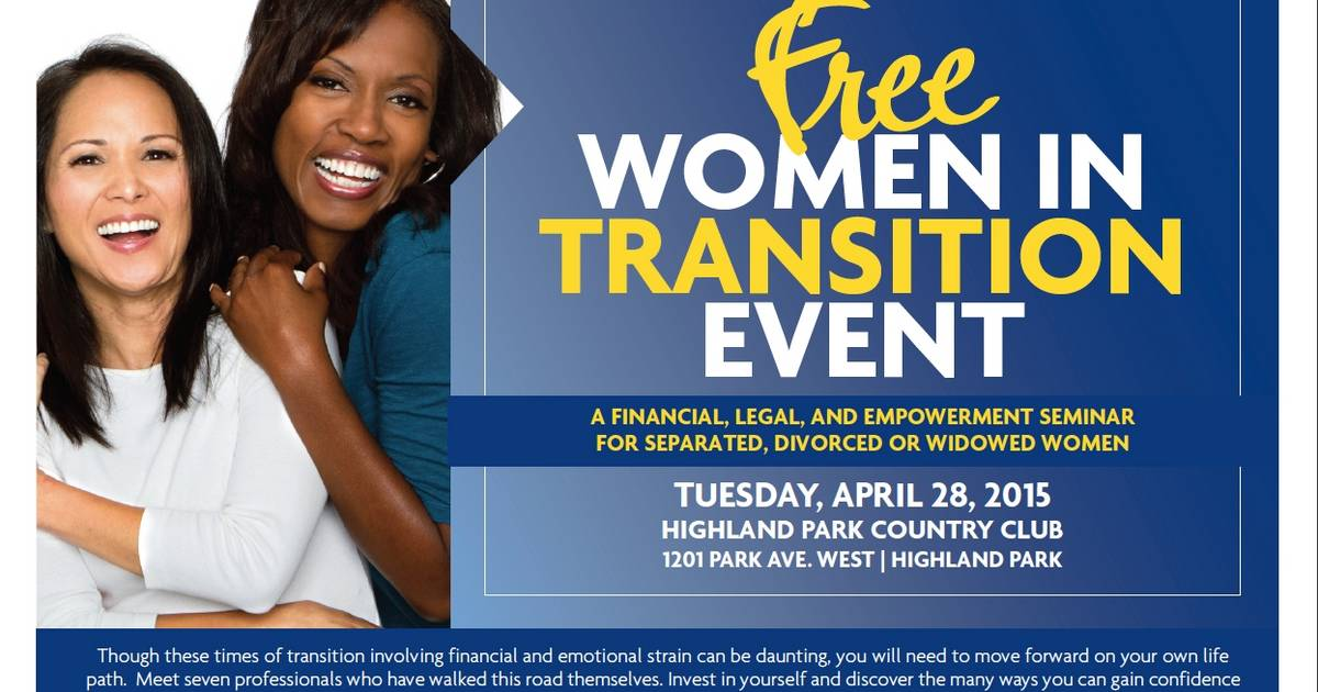 Wintrust hosts 'Women in Transition' seminar for separated
