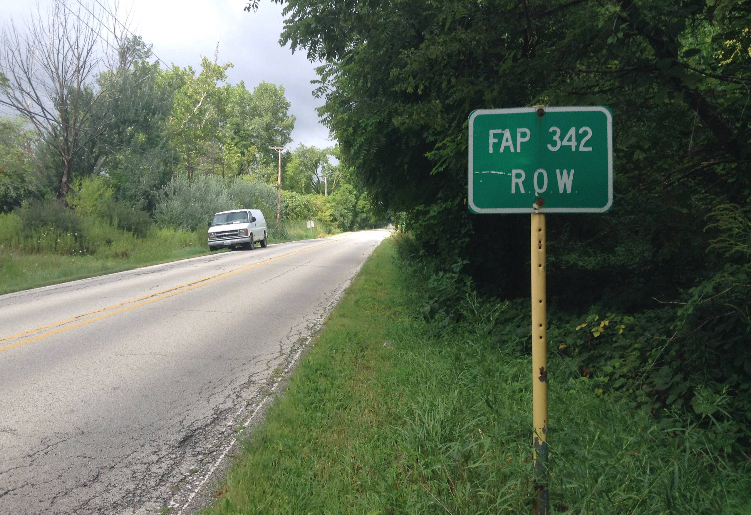 Hawthorn Woods takes exception to Route 53 going through wetland